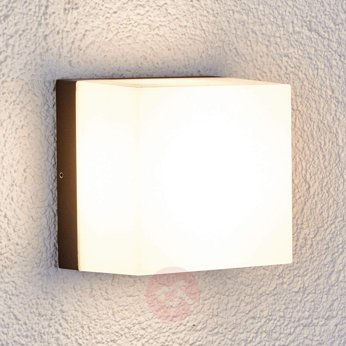 Most Current Square Led Outdoor Wall Light Cahita (View 4 of 20)