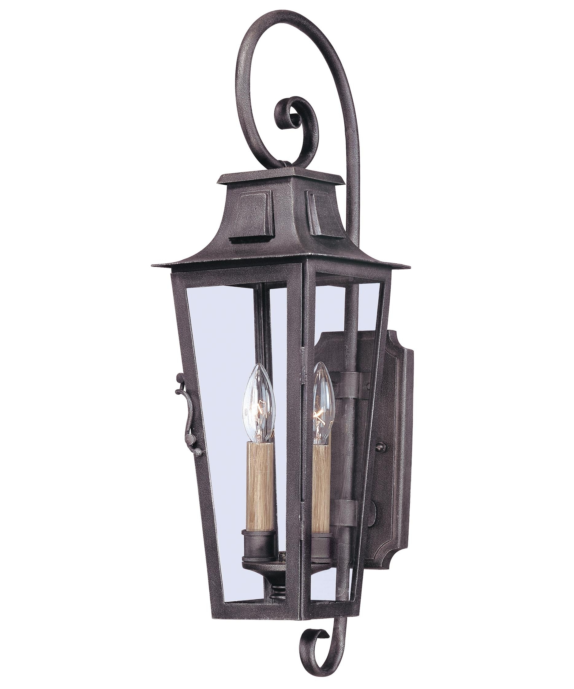 Most Current Troy Lighting Outdoor Wall Sconces For Troy Lighting B2962 French Quarter 7 Inch Wide 2 Light Outdoor Wall (View 8 of 20)