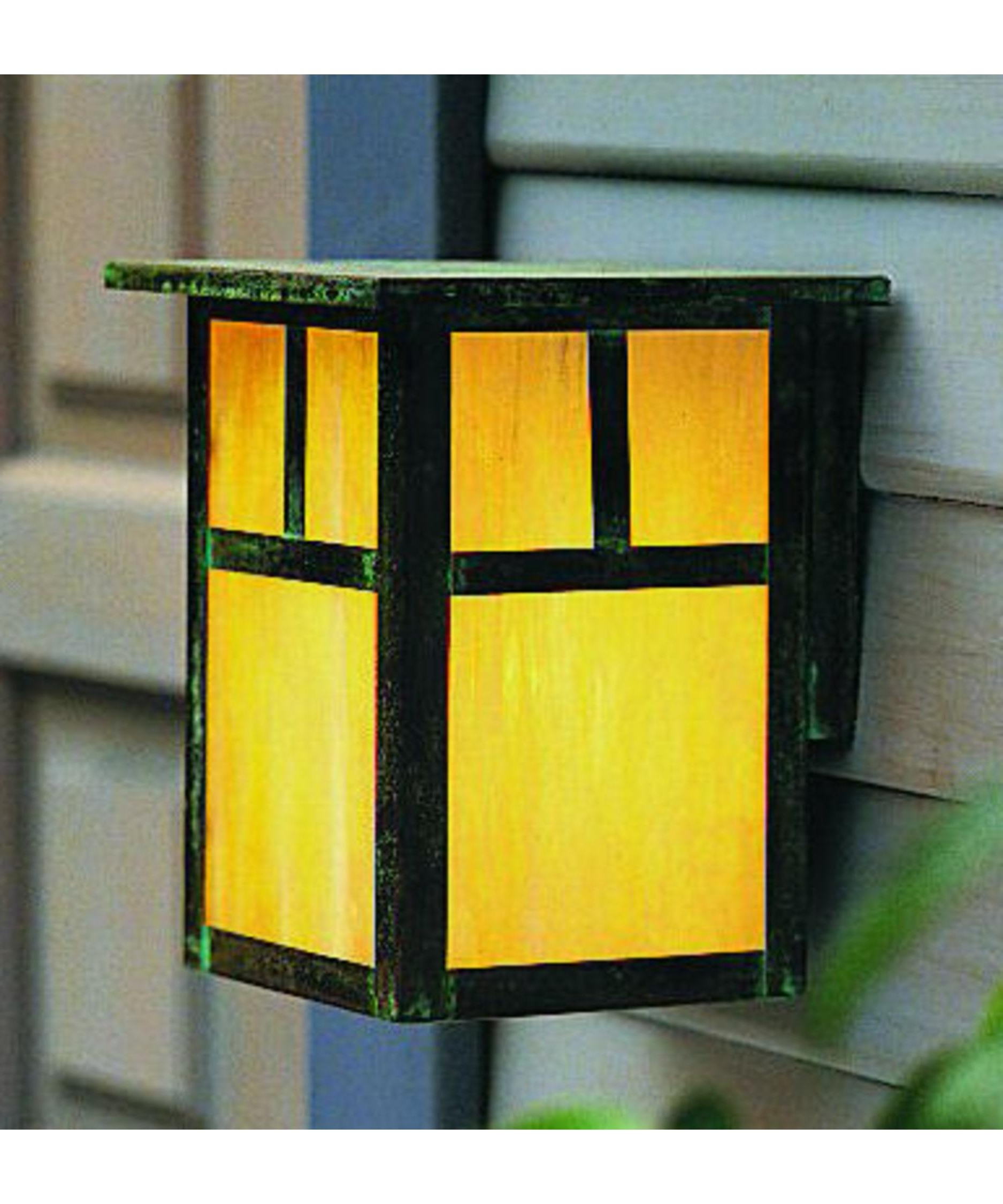 Most Current Verdigris Outdoor Wall Lighting Intended For Arroyo Craftsman Mw 7 Mission 7 Inch Wide 1 Light Outdoor Wall Light (View 15 of 20)
