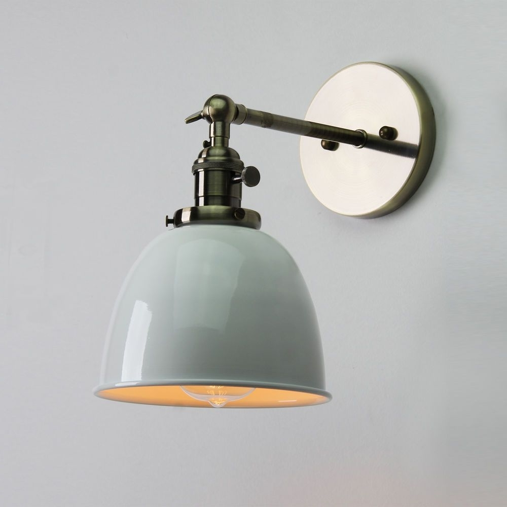 Most Current Vintage Antique Industrial Bowl Sconce Loft Cofe Rustic Wall Light With Regard To Northern Ireland Outdoor Wall Lights (View 9 of 20)
