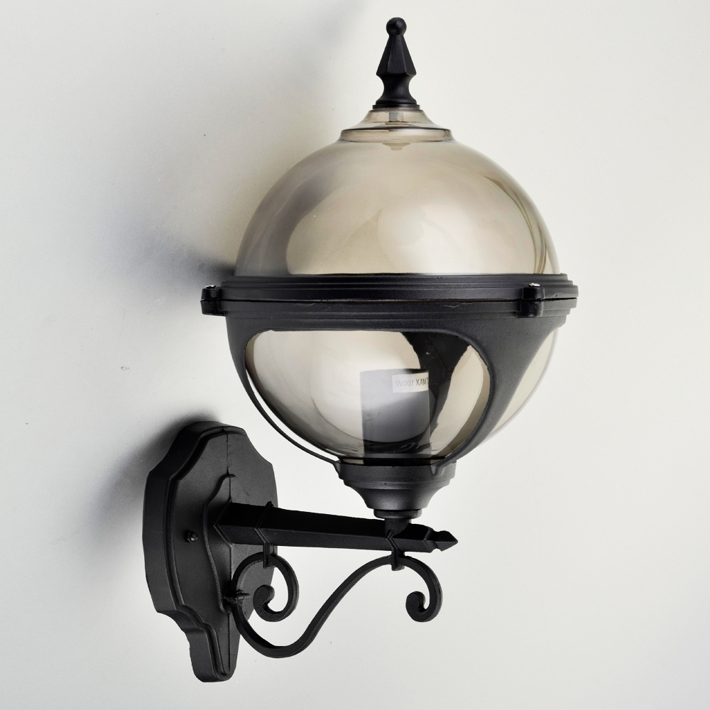 Most Current Wall Light: Inspiring Globe Outside Wall Lights As Well As Mystic Within Globe Outdoor Wall Lighting (View 6 of 20)