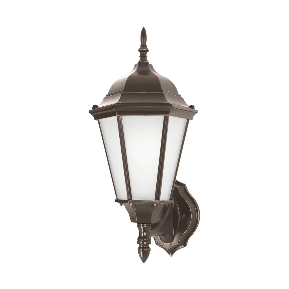 Most Current Westinghouse Glenwillow 1 Light Victorian Bronze Outdoor Integrated For Expensive Outdoor Wall Lighting (View 14 of 20)