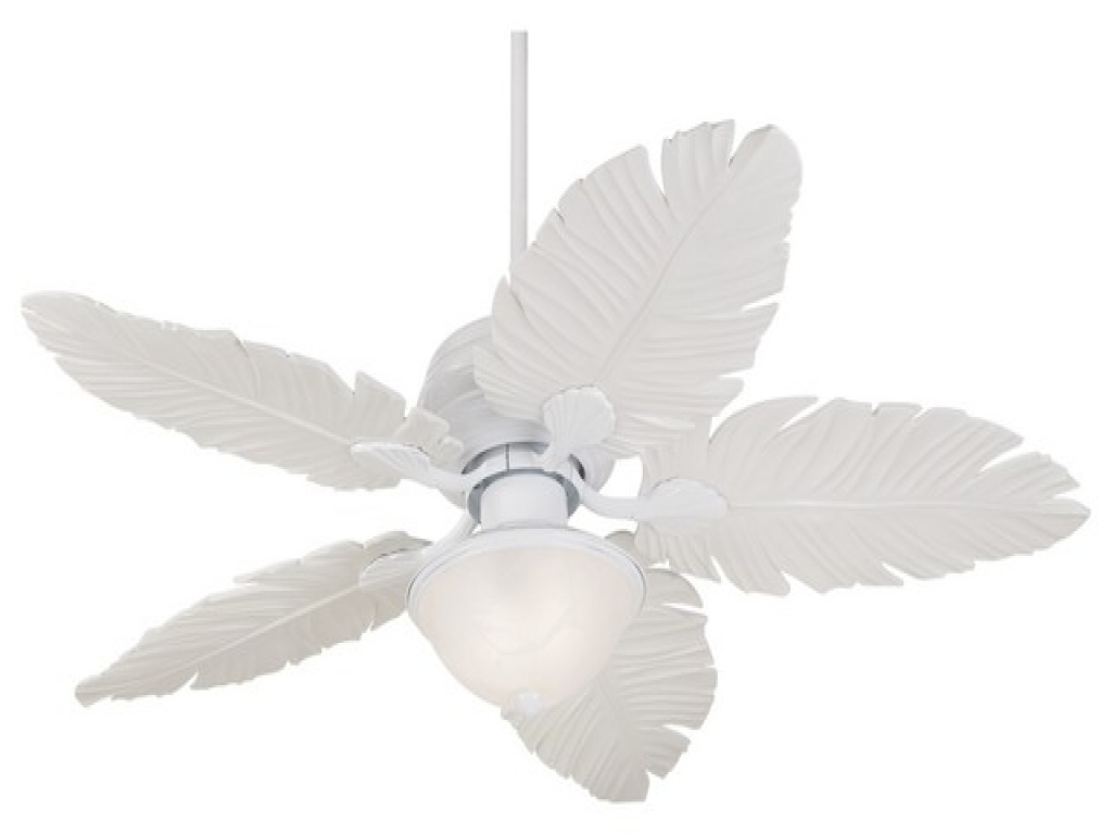 Most Popular Ceiling Fans With Lights : Lamps Plus Outdoor Fans, Palm Leaf Light Pertaining To Lamps Plus Outdoor Ceiling Lights (View 14 of 20)
