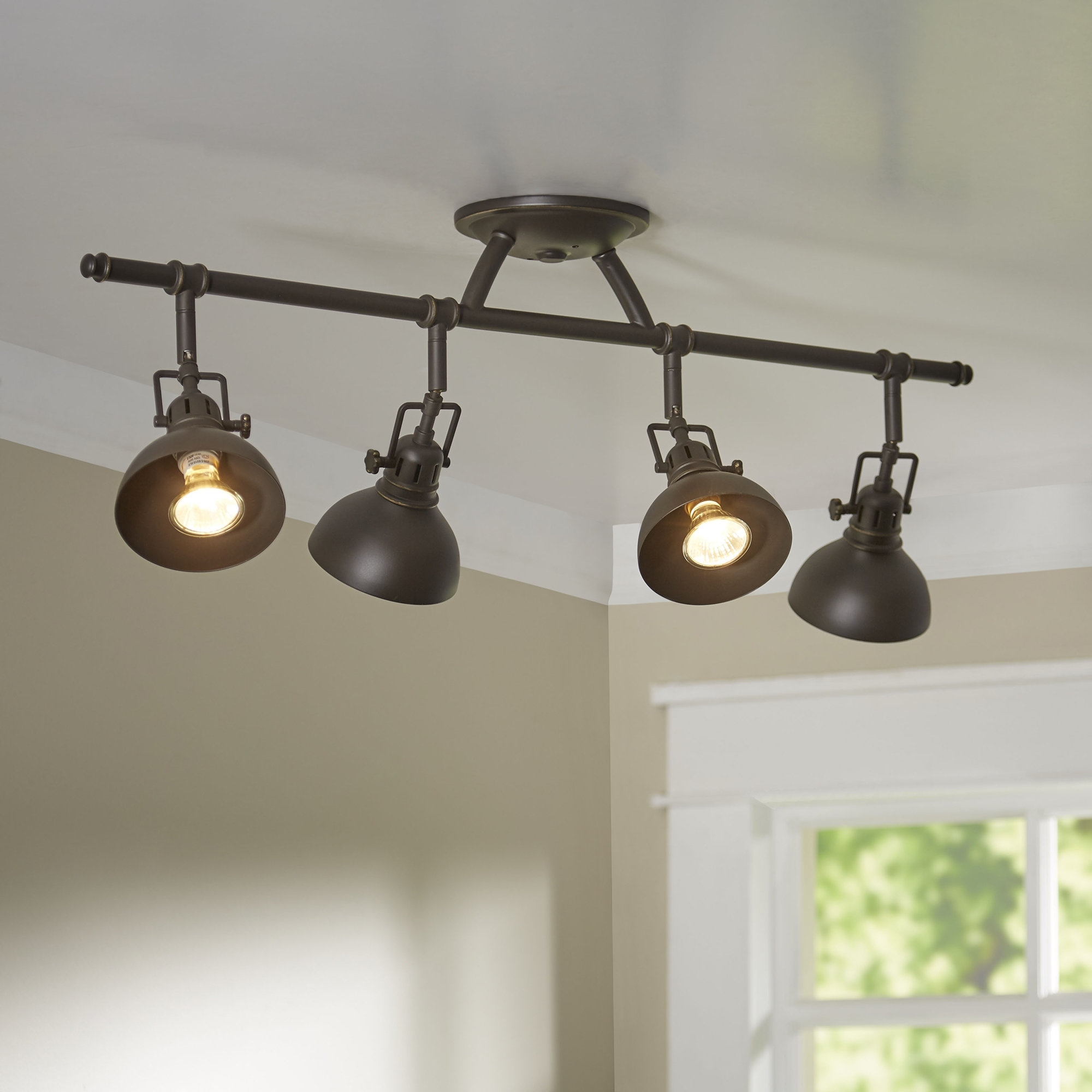 Most Popular Contemporary Rustic Outdoor Lighting At Wayfair Intended For Track Lighting You'll Love (View 11 of 20)