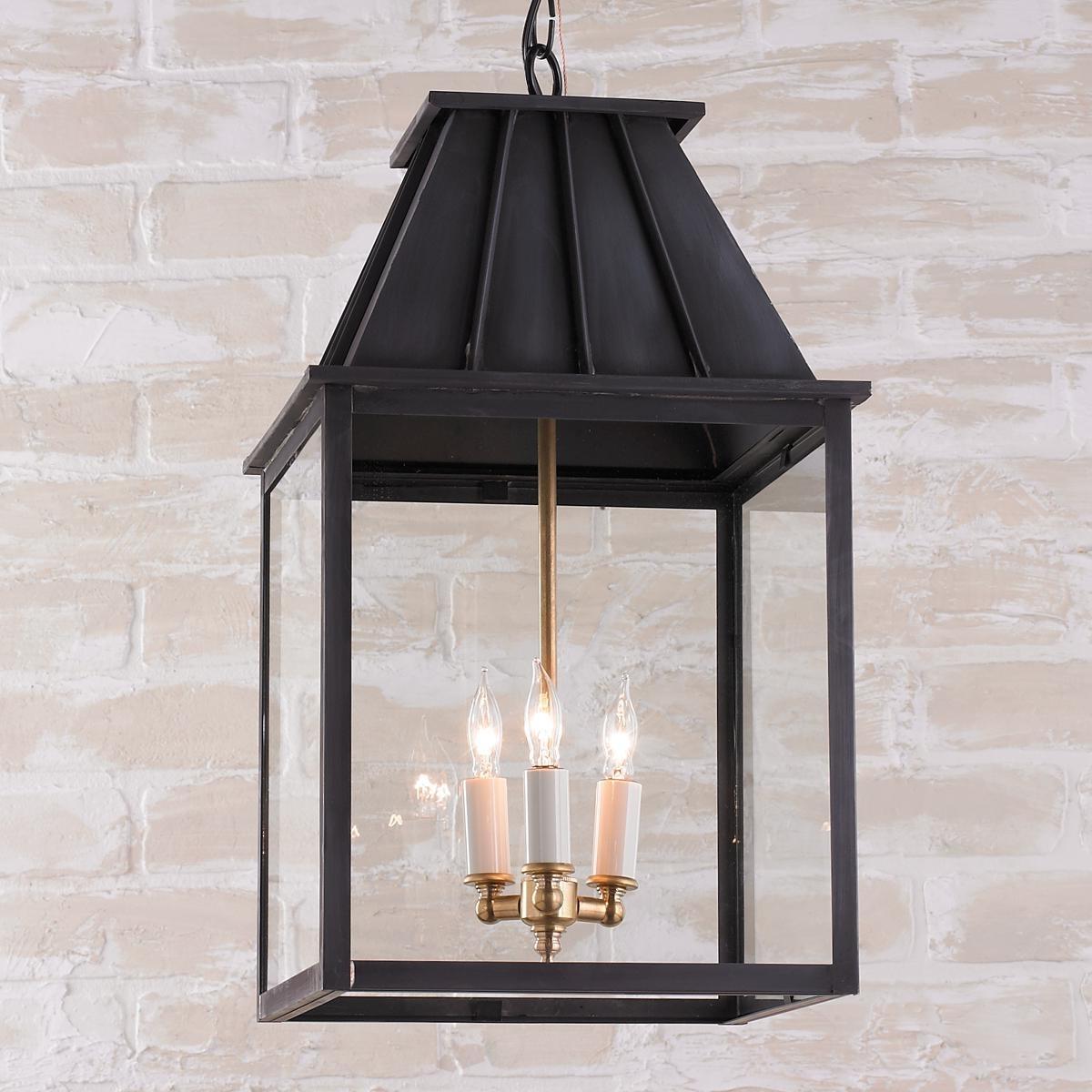 Most Popular Diy : Mansard Style Outdoor Hanging Lantern Lanterns Georgian Regarding Georgian Style Outdoor Lighting (View 11 of 20)