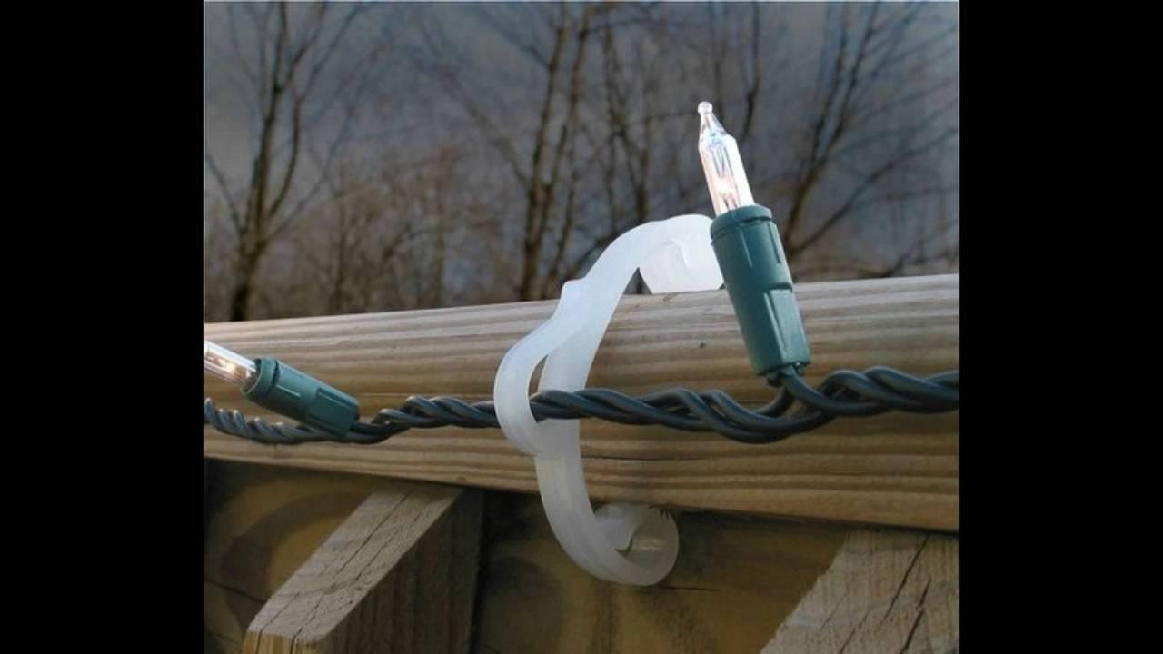 Most Popular Hanging Outdoor Christmas Lights Hooks Intended For Enjoyable Design Ideas Hooks For Christmas Lights Hanging With Paper (View 14 of 20)