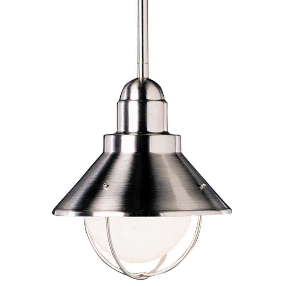 Most Popular Indoor Outdoor Hanging Lights Within Belden Indoor Outdoor Pendant Pottery Barn With Light Fixtures (View 10 of 20)