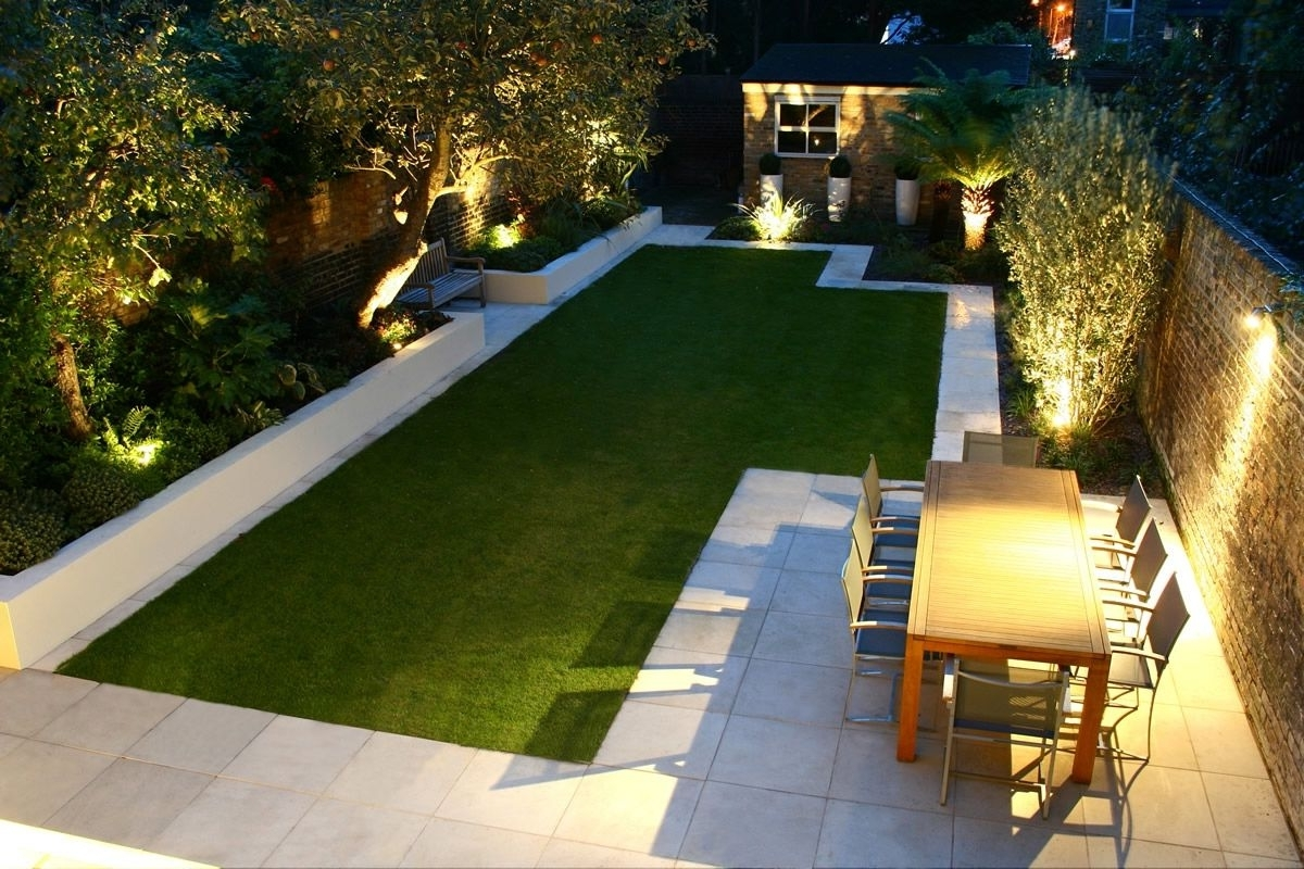 Most Popular Modern Family Garden Battersea (View 11 of 20)