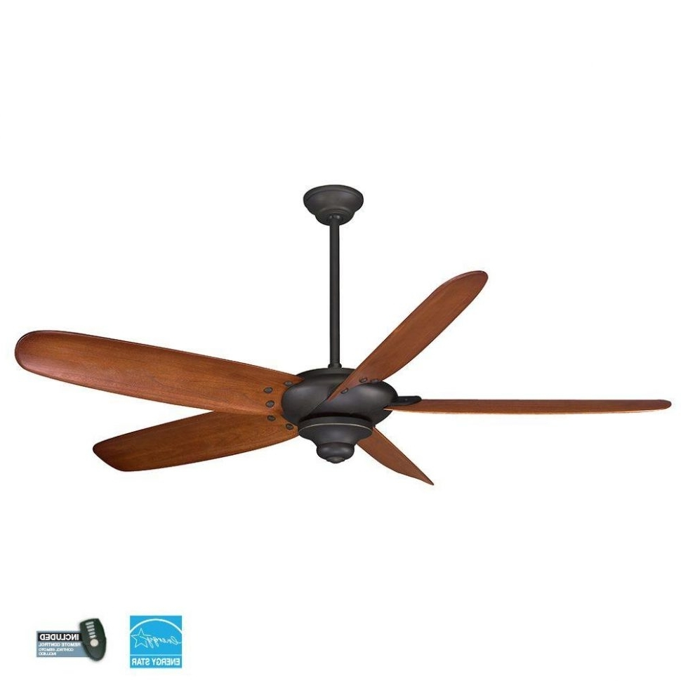 Most Popular Outdoor Ceiling Fans With Lights At Ebay Intended For Ceiling Fans : Caged Ceiling Fan With Light Hunter Fans Home Depot (View 5 of 20)