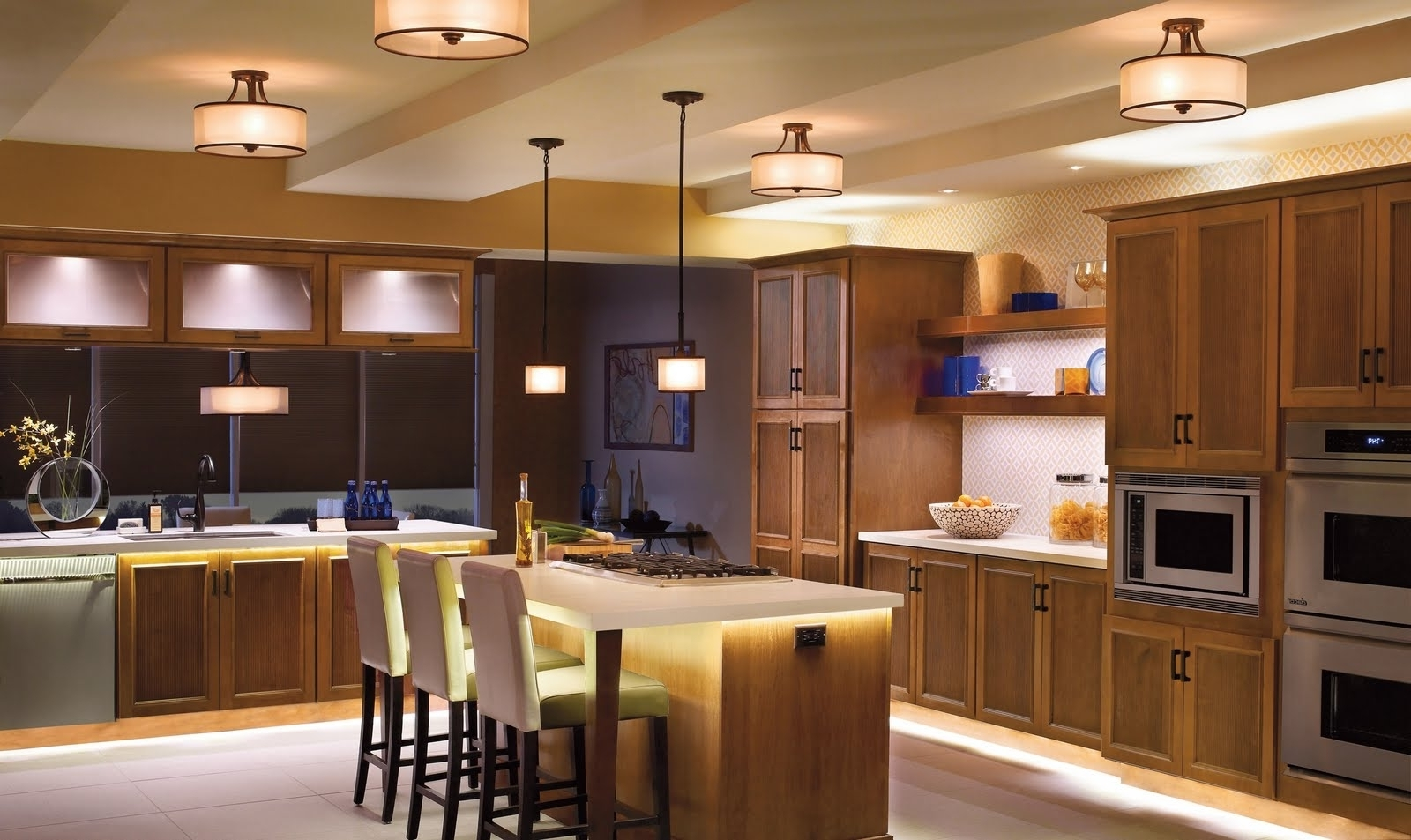 Most Popular Outdoor Ceiling Track Lighting Pertaining To Kitchen : Kitchen Track Lighting Low Ceiling Outdoor Dining (View 8 of 20)