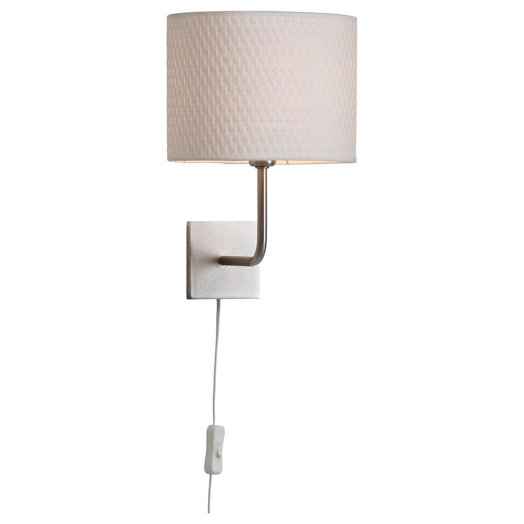 Most Popular Outdoor Wall Lights At Ikea Intended For Aläng Wall Lamp With Led Bulb – Ikea (View 10 of 20)