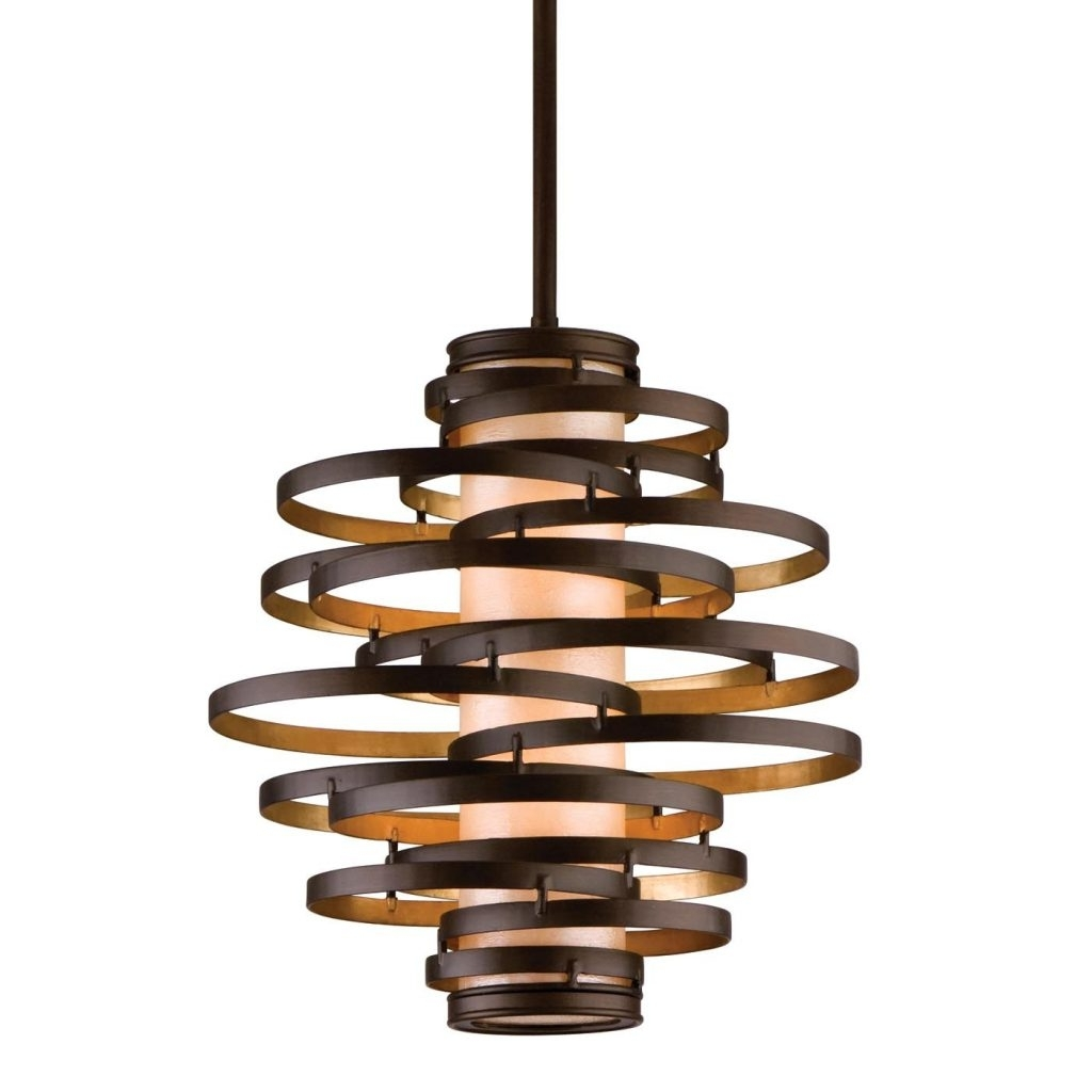 Most Popular Pendant Lighting Hand Hammered Copper Inch Large Round Images On Regarding Round Outdoor Hanging Lights (View 8 of 20)