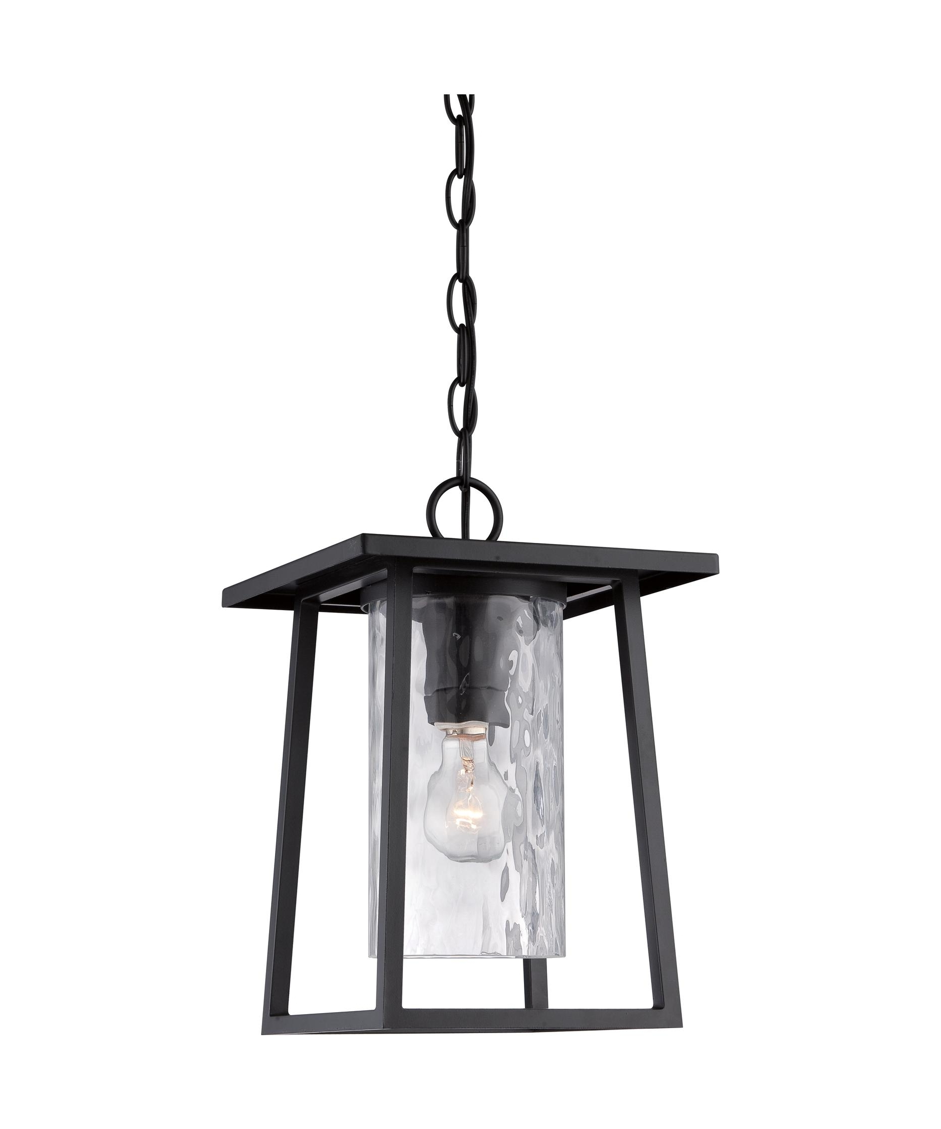 Most Popular Quoizel Outdoor Hanging Lights With Quoizel Ldg1909 Lodge 10 Inch Wide 1 Light Outdoor Hanging Lantern (View 9 of 20)