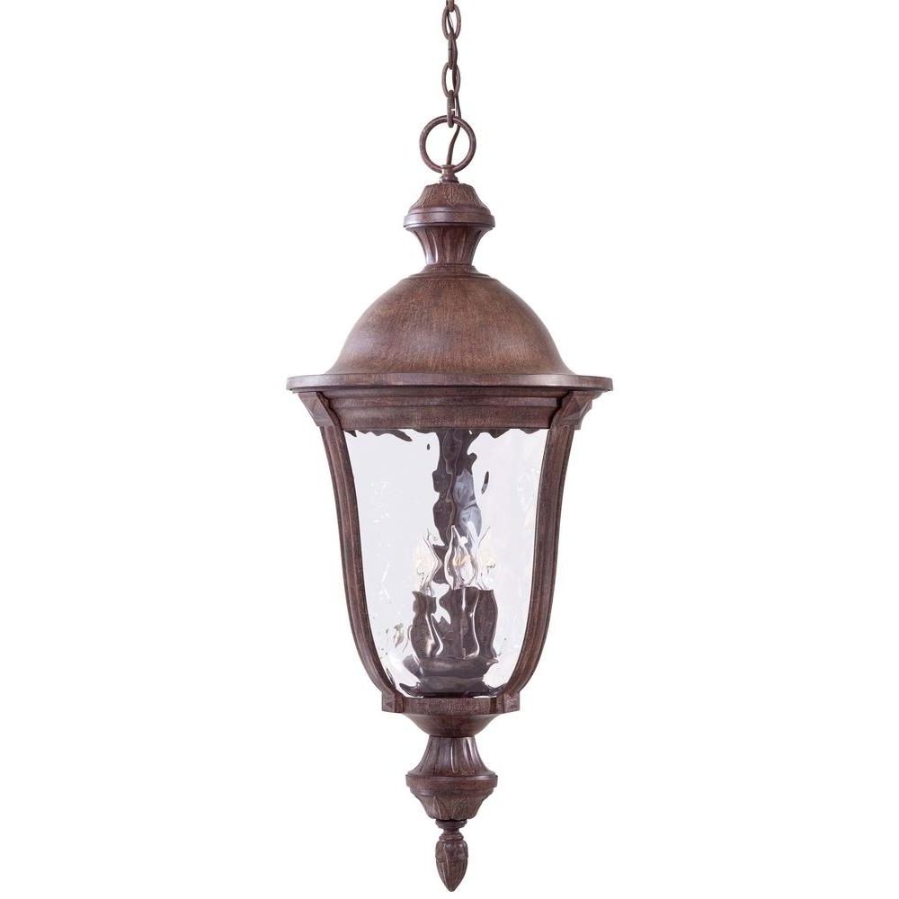 Most Popular The Great Outdoorsminka Lavery Ardmore Vintage Rust 5 Light Pertaining To Vintage Outdoor Hanging Lights (View 14 of 20)