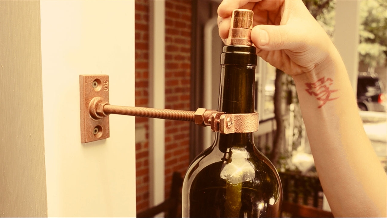 Most Recent Diy Recycled Glass Bottle Outdoor Lighting – Buildipedia With Outdoor Hanging Bottle Lights (View 20 of 20)