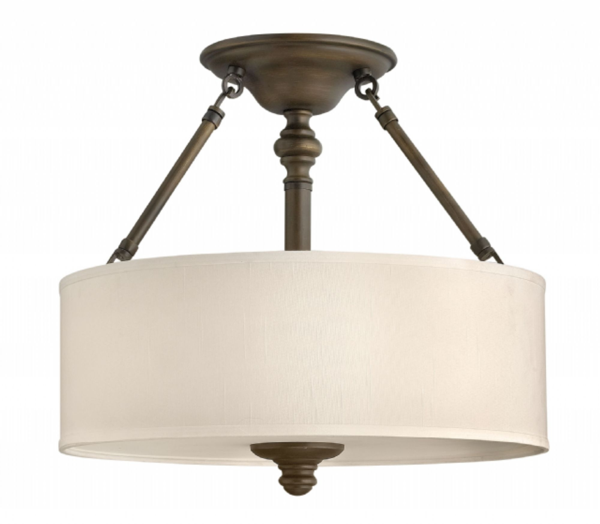 Most Recent English Bronze Sussex > Interior Ceiling Mount With Flush Mount Hinkley Lighting (View 10 of 20)
