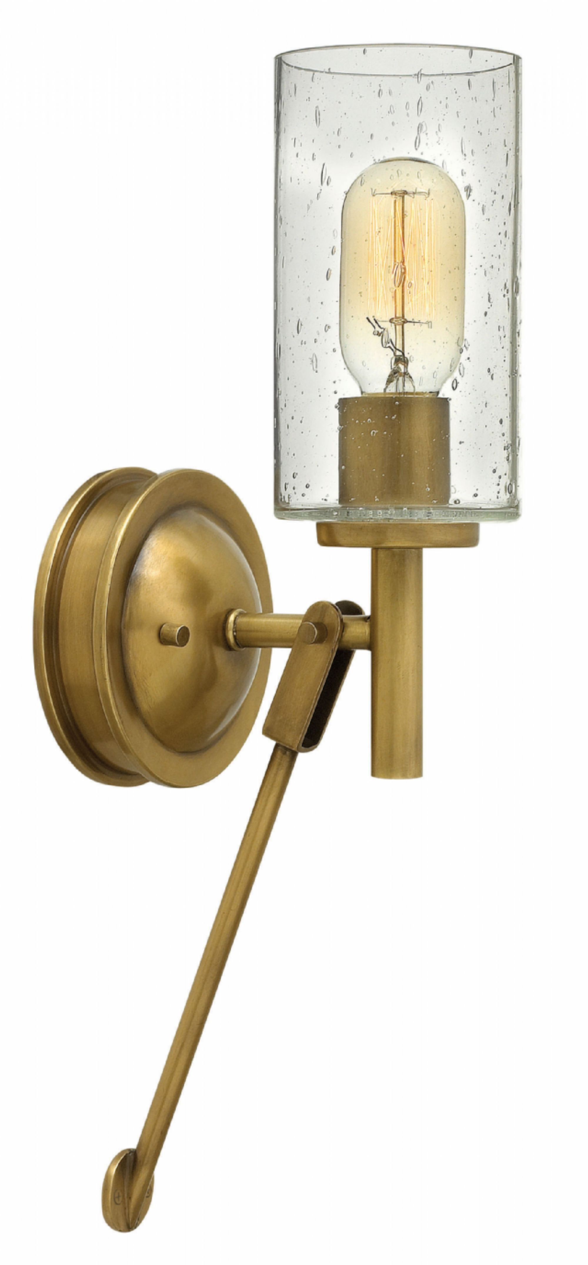 Most Recent Hinkley Lighting For Modern Garden In Lighting: Heritage Brass Collier Design Ideas With Hinkley Sconces (View 15 of 20)