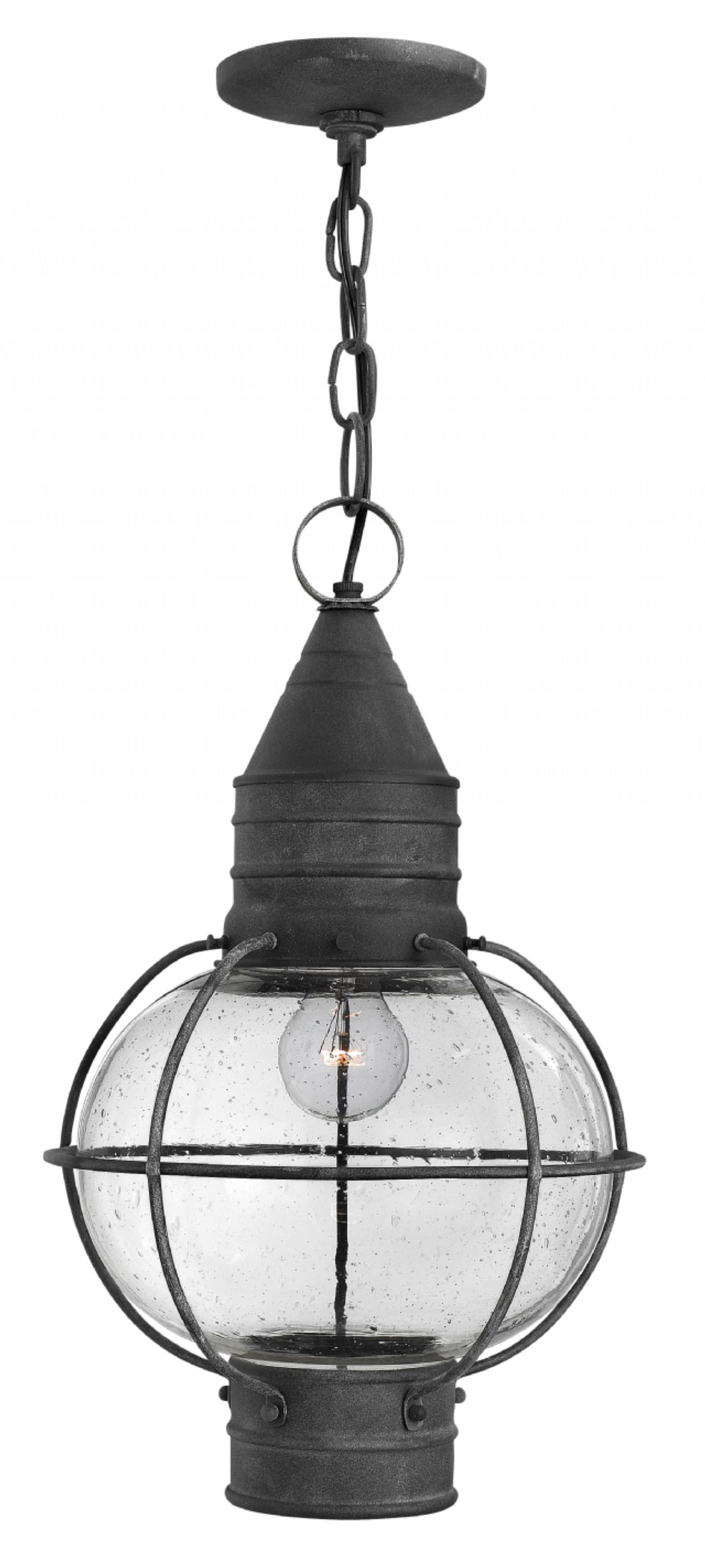 Most Recent Hinkley Outdoor Hanging Lights For Aged Zinc Cape Cod > Exterior Ceiling Mount (View 19 of 20)