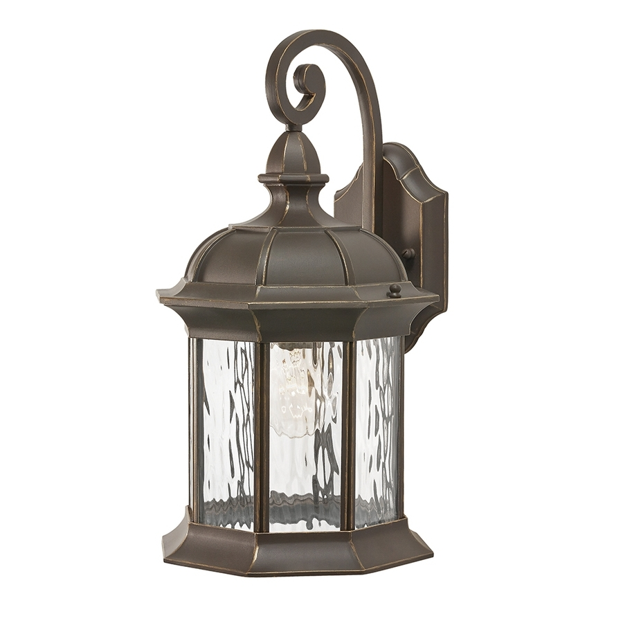 Most Recent Kichler Lighting Outdoor Wall Lanterns With Regard To Shop Kichler Brunswick (View 11 of 20)