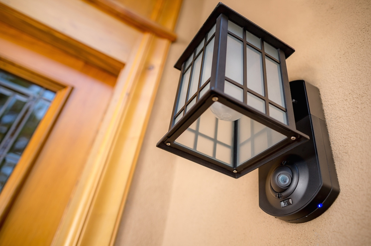 Most Recent Kuna Security Light Review: A Great Product But Consider The Full Within Outdoor Wall Lights With Security Camera (View 7 of 20)
