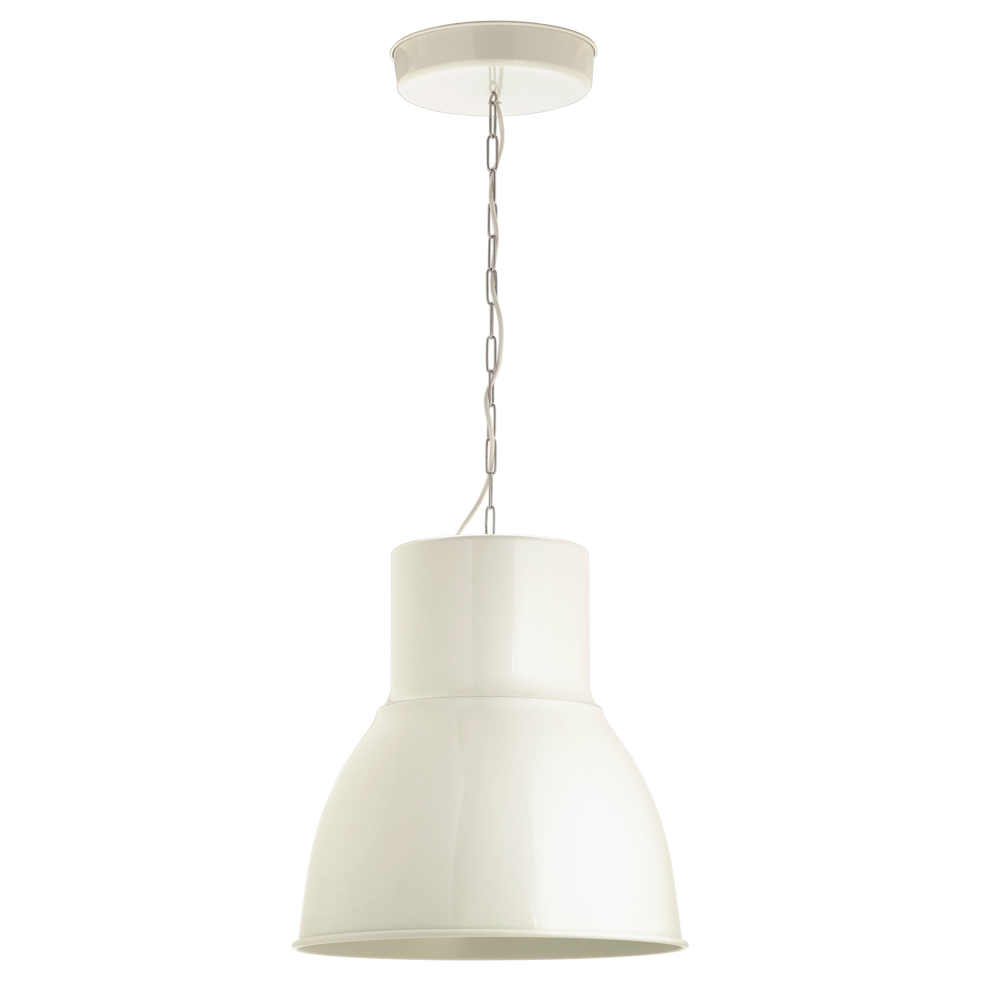 Most Recent Light : Hektar Pendant Lamp White Ceiling Light Cm Ikea Art String Regarding Ikea Outdoor Hanging Lights (View 5 of 20)