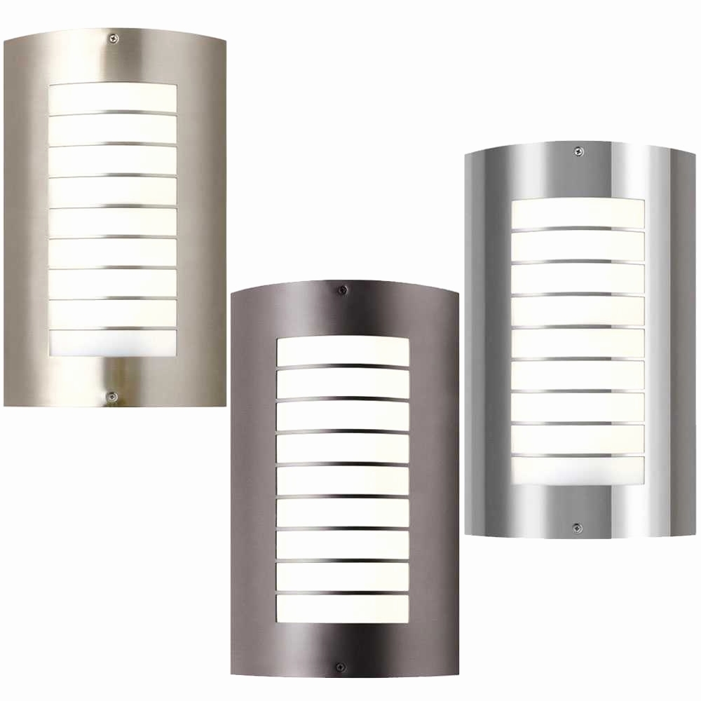 Most Recent Modern And Contemporary Outdoor Lighting Sconces For Home Lighting (View 14 of 20)