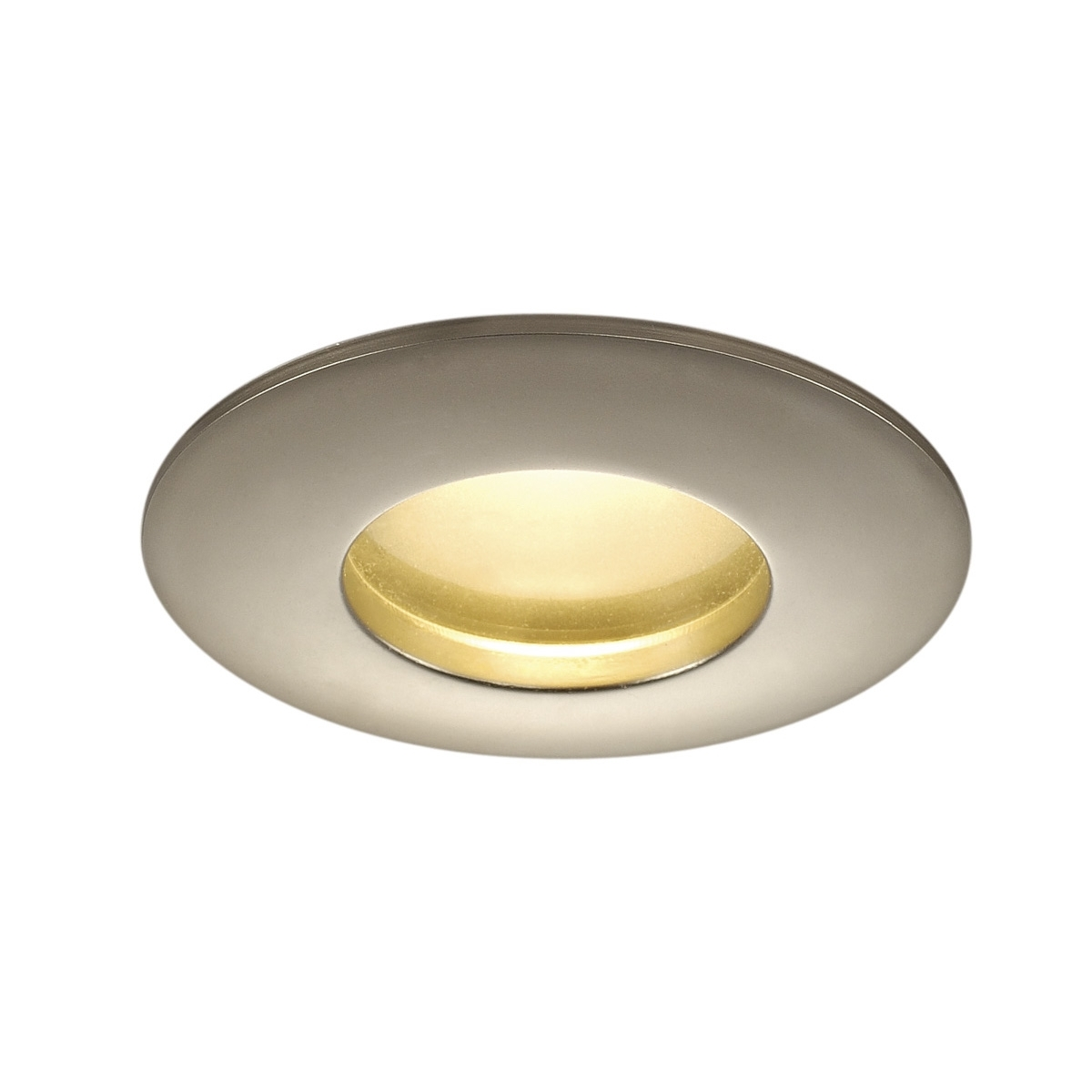 Most Recent Outdoor Led Recessed Ceiling Lights Intended For Out 65, Outdoor Recessed Ceiling Light, Led, 3000k, Round, Titanium (View 15 of 20)