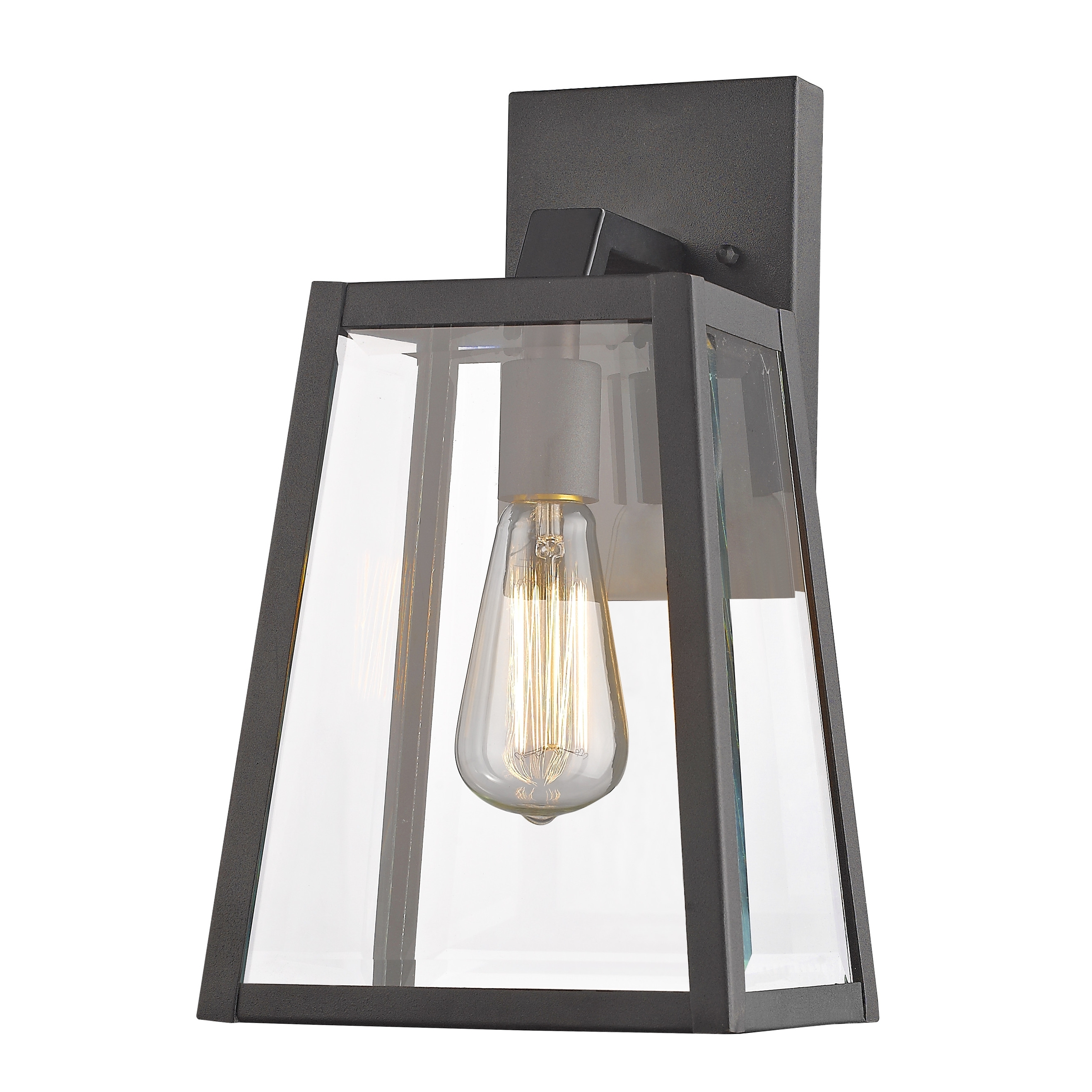Most Recent Outdoor Lighting Fixtures At Wayfair Throughout Light : Barn Brown Wall Mounted Home Depot Solar Lights For Outdoor (View 4 of 20)