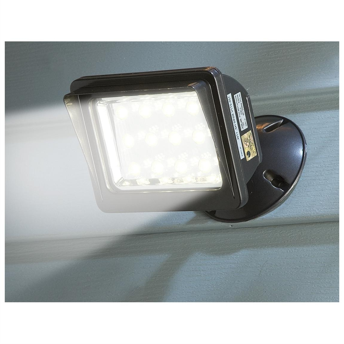 Most Recent Outdoor Wall Flood Lights Pertaining To Light : Fresh Wall Mounted Flood Lights For Anglepoise With Exterior (View 10 of 20)