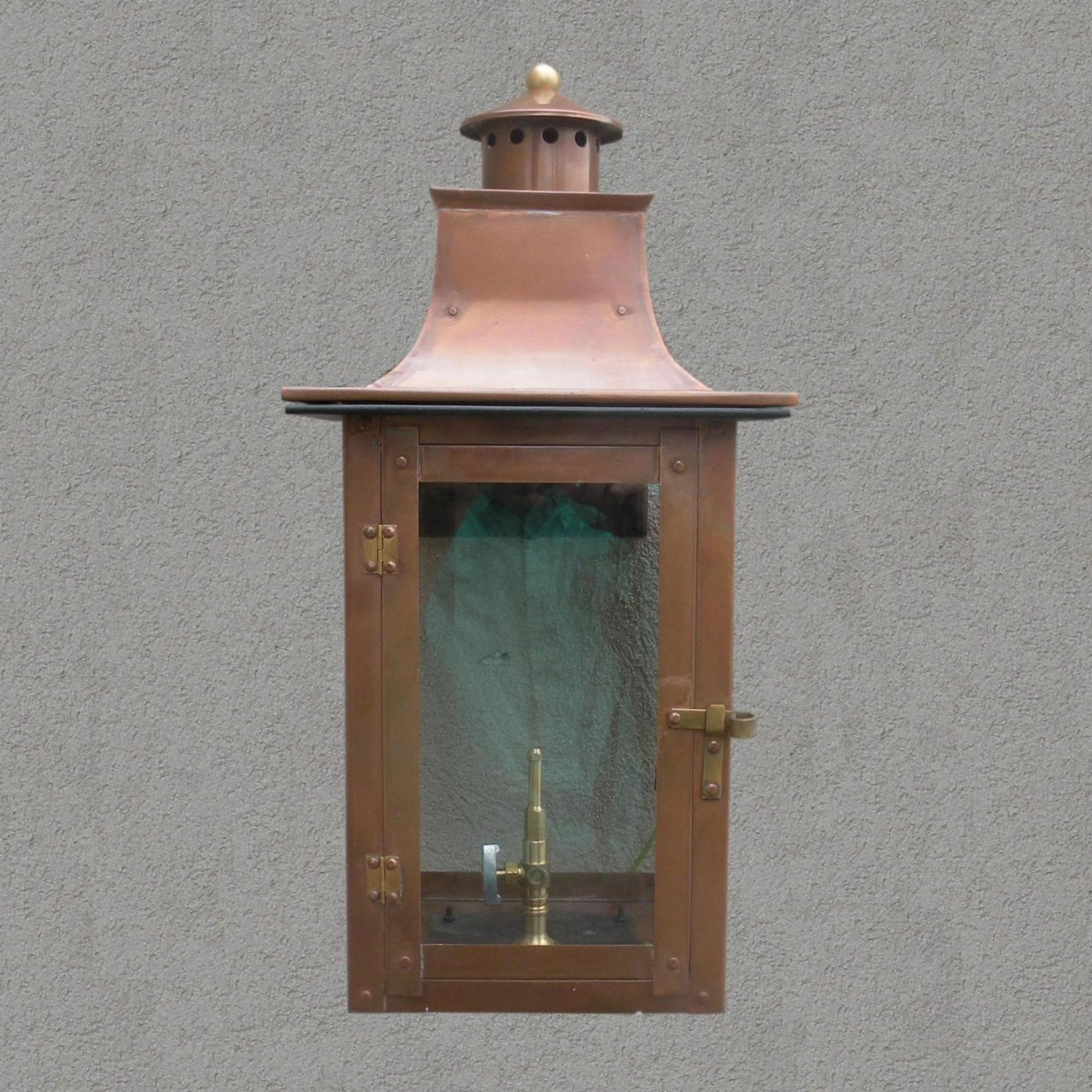 Most Recent Outdoor Wall Gas Lights Intended For Regency Gl21 Faye Rue Small Natural Gas Light With Open Flame Burner (View 9 of 20)