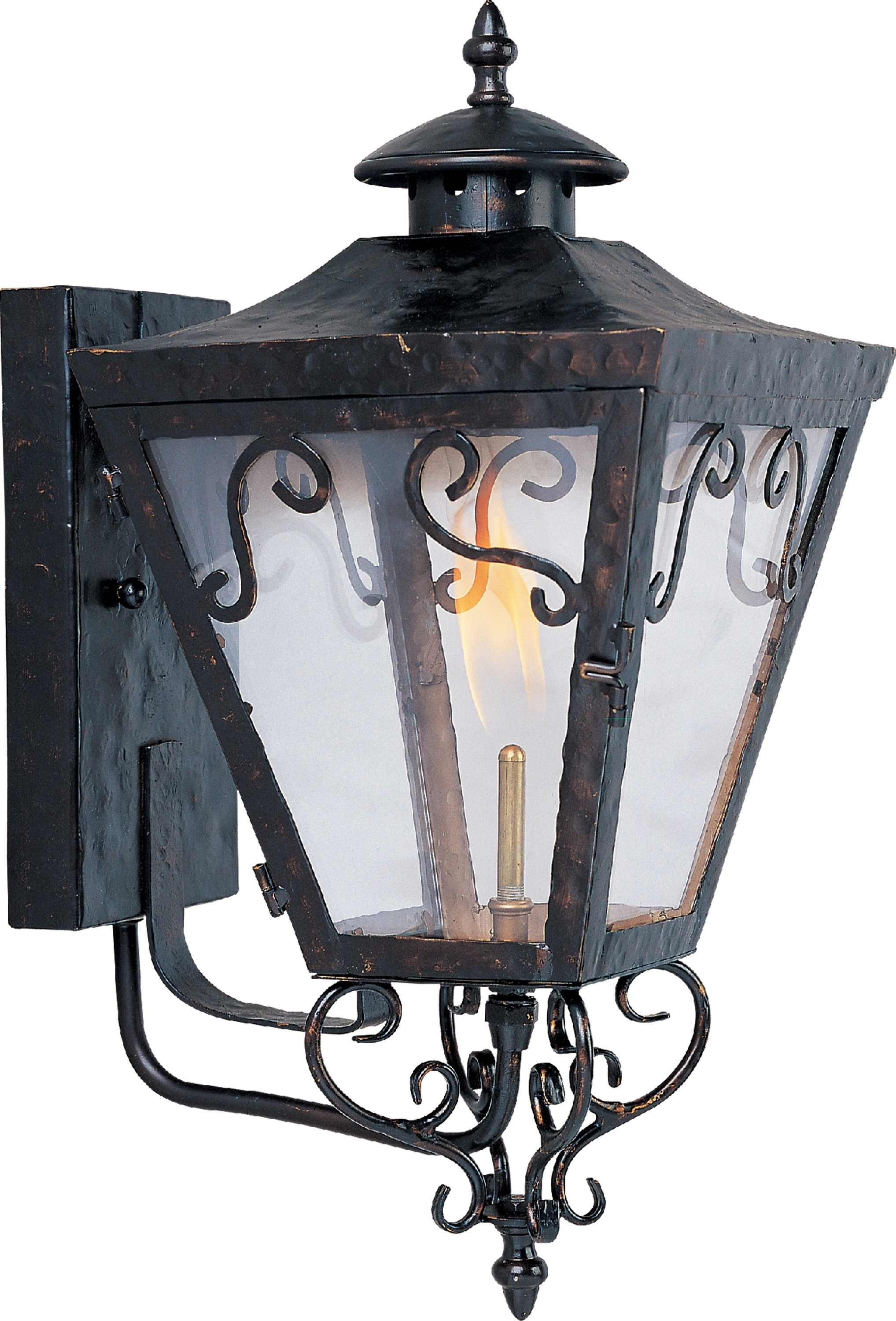 Most Recent Outdoor Wall Mount Gas Lights In Cordoba Outdoor Wall Gas Lantern – Outdoor Wall Mount – Maxim Lighting (View 8 of 20)
