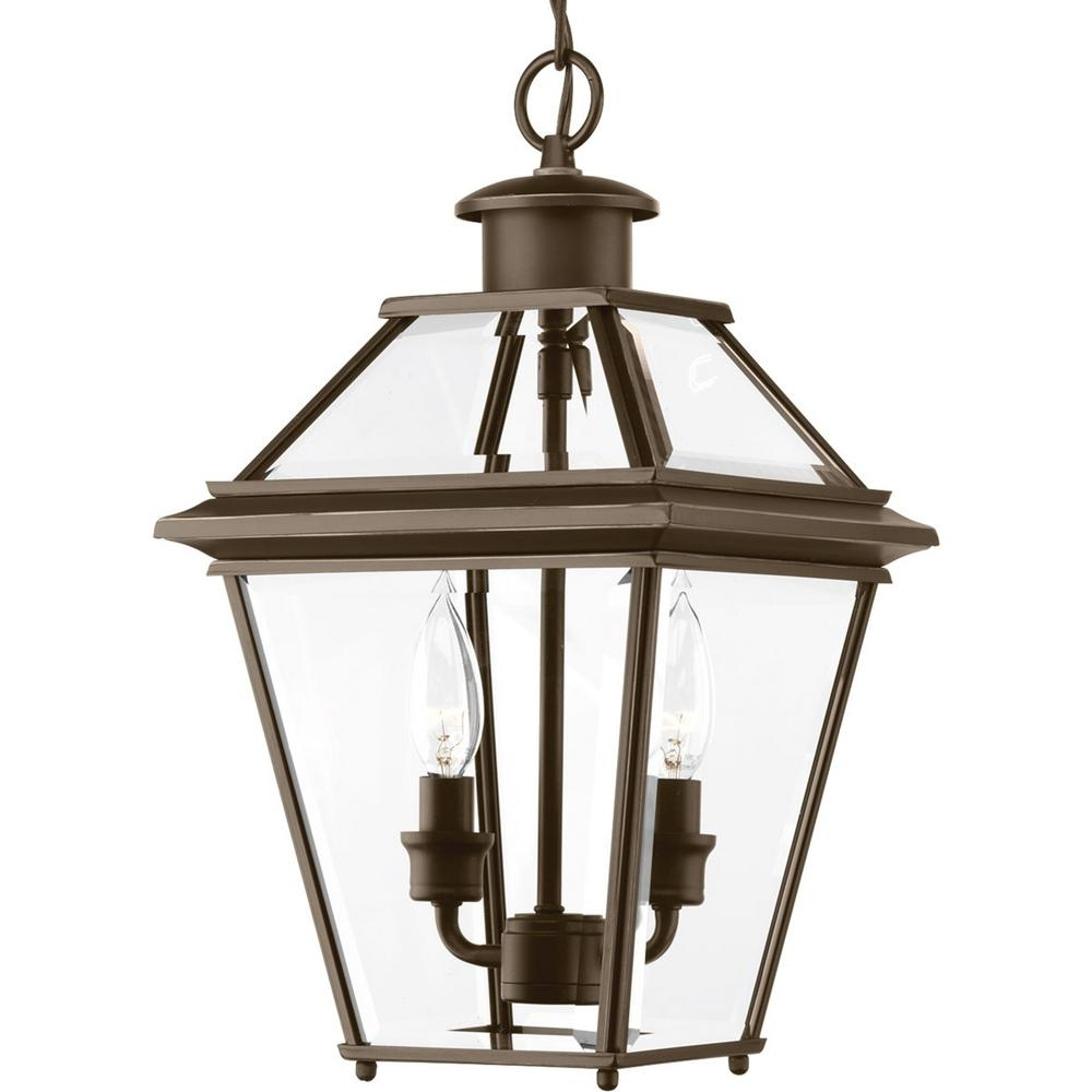 Most Recent Progress Lighting Burlington Collection 2 Light Outdoor Antique Pertaining To Antique Outdoor Hanging Lights (View 14 of 20)