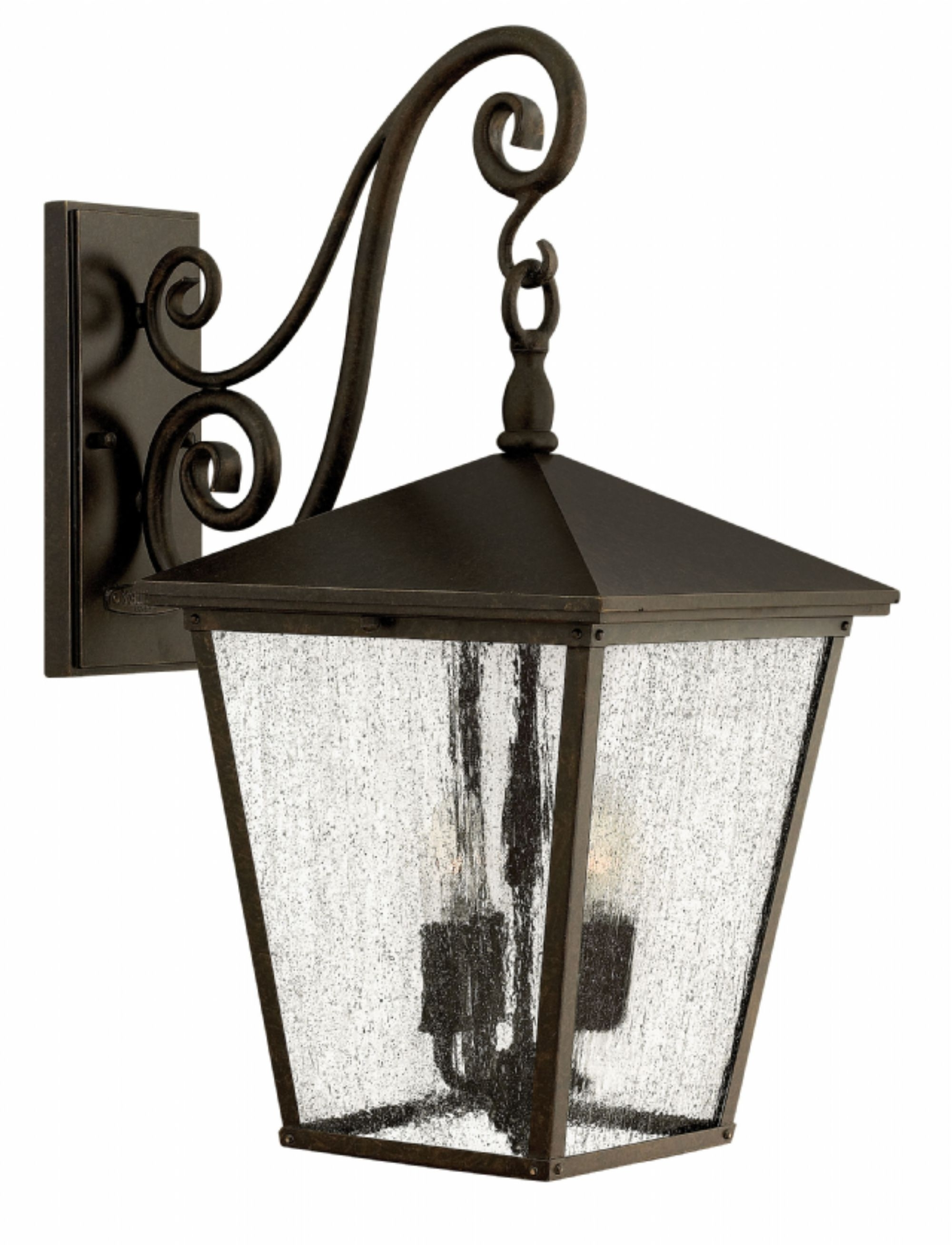 Most Recent Regency Bronze Trellis > Exterior Wall Mount Throughout Extra Large Wall Mount Porch Hinkley Lighting (View 12 of 20)