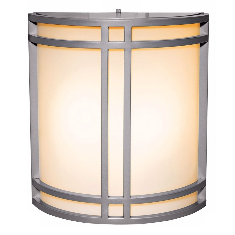 Most Recently Released Artemis Satin Silver Energy Efficient Outdoor Wall Sconce – Style In Access Lighting Outdoor Wall Sconces (View 15 of 20)