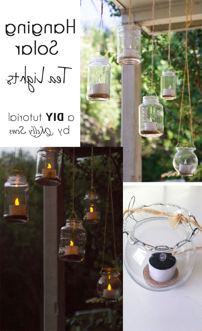 Most Recently Released Hanging Solar Tea Lights (View 14 of 20)