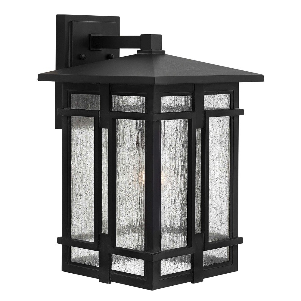 Most Recently Released Large Wall Mount Hinkley Lighting Pertaining To Lighting Outdoor Tucker Large Wall Mount Museum Black 1965mb (View 14 of 20)
