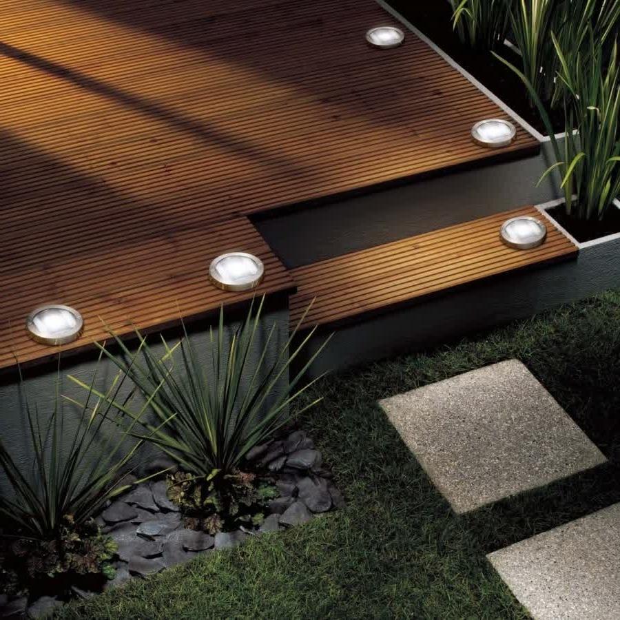 Most Recently Released Lighting : Contemporary Low Voltage Deck Lighting Jbeedesigns Regarding Modern Low Voltage Deck Lighting (View 12 of 20)