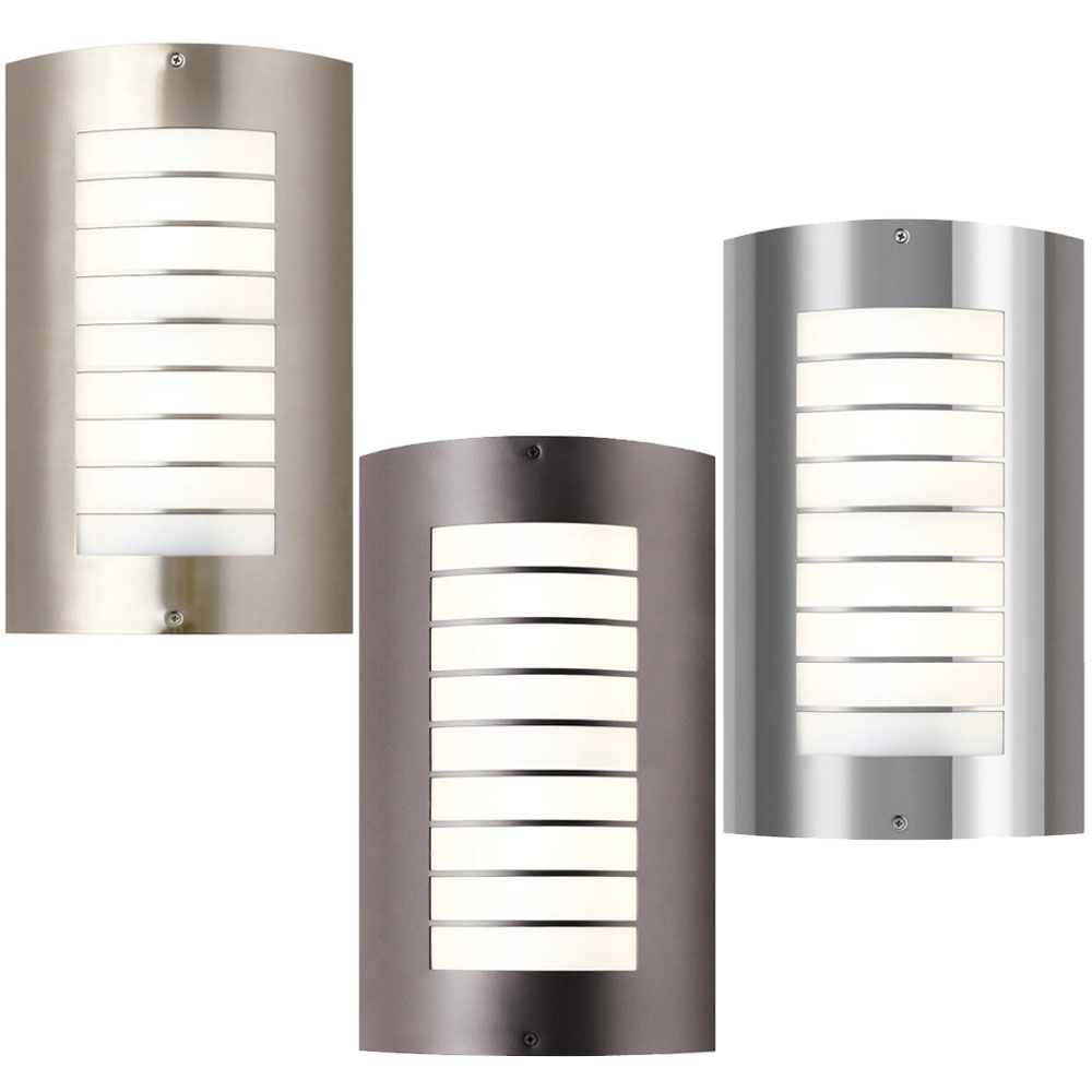 Most Recently Released Lighting : Lighting Modern Outdoorres Wall Mounted Pole Collections Pertaining To Contemporary Outdoor Lighting Fixtures (View 6 of 20)
