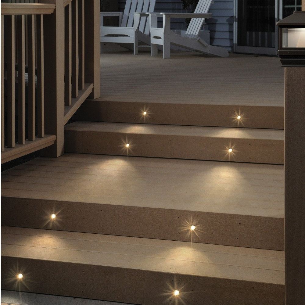 Most Recently Released Modern Low Voltage Deck Lighting At Home Depot Pertaining To Lighting : Lighting Unforgettable Lowge Led Pictures Concept (View 12 of 20)