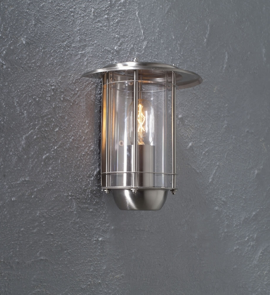Most Recently Released New Stainless Steel Outside Wall Lights 63 With Additional Argos Within Stainless Steel Outdoor Wall Lights (View 15 of 20)