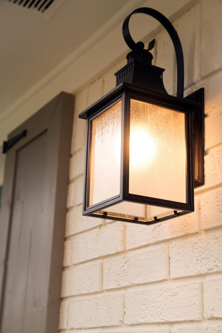 Most Recently Released Outdoor Garage : Led Outside Lights Exterior Lighting Ideas Outdoor With Cottage Outdoor Lighting (View 10 of 20)