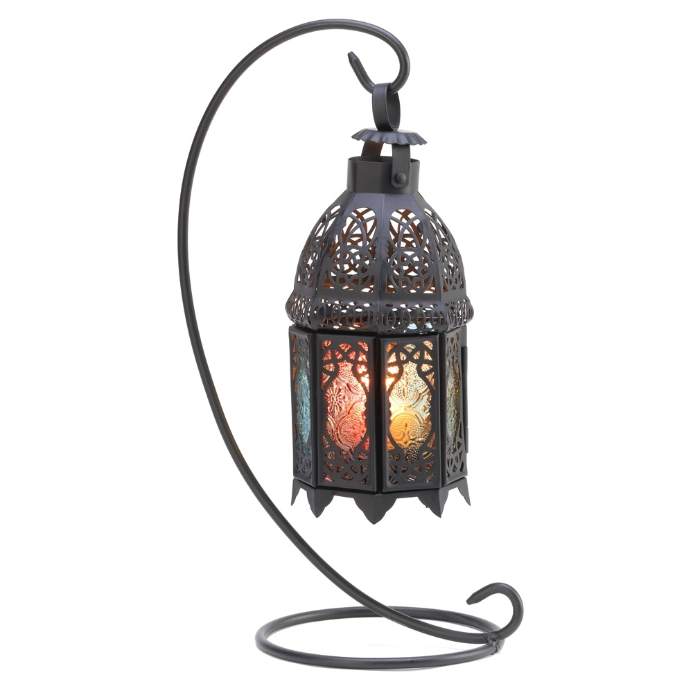 Most Recently Released Outdoor Hanging Candle Lanterns At Wholesale In Wholesale Rainbow Moroccan Lantern Stand – Buy Wholesale Candle Lanterns (View 8 of 20)