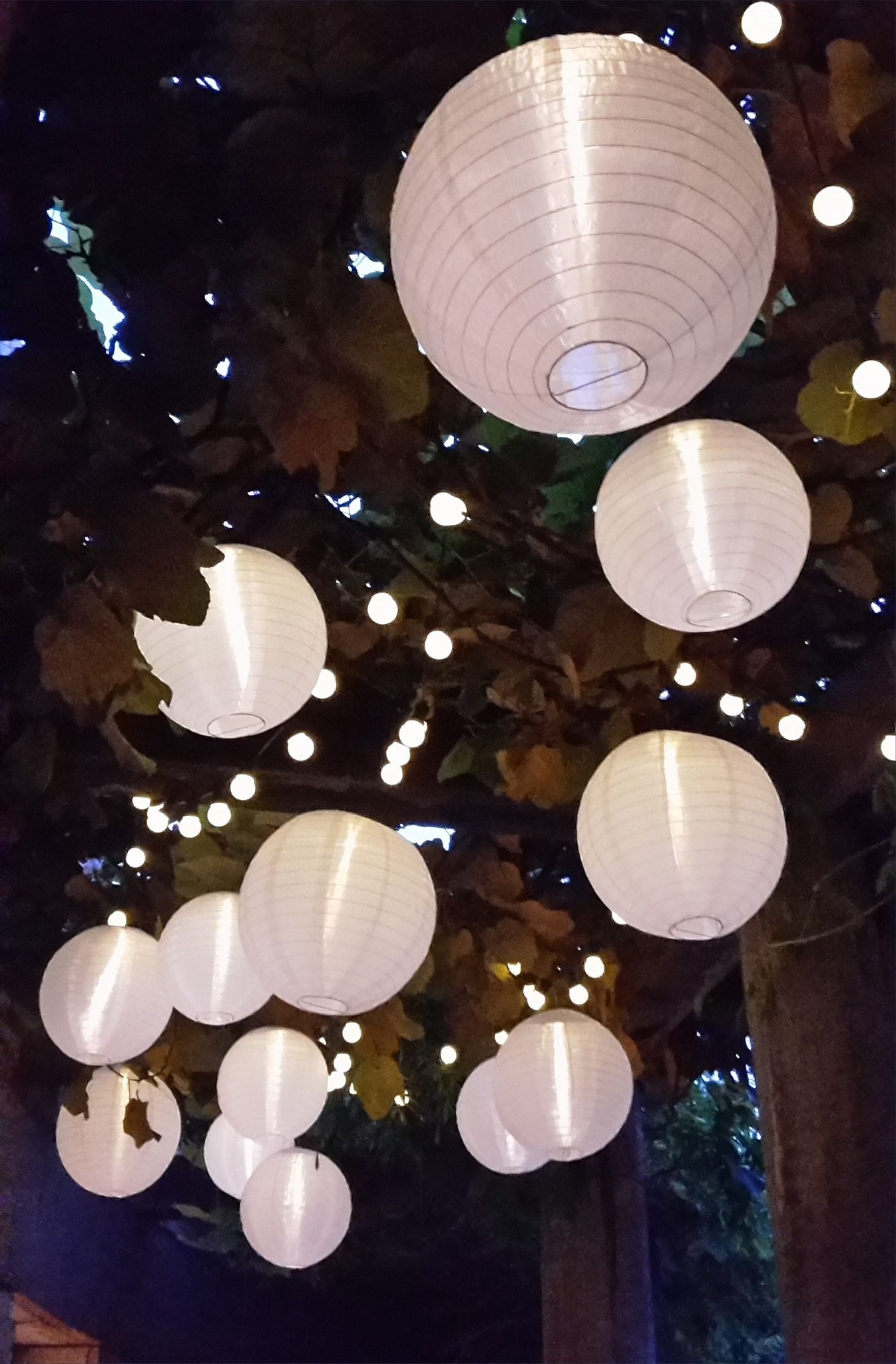 Most Recently Released Outdoor Hanging Nylon Lanterns With Regard To Nylon Solar Lanterns And Solar String Lights Are Perfect For Outdoor (View 13 of 20)