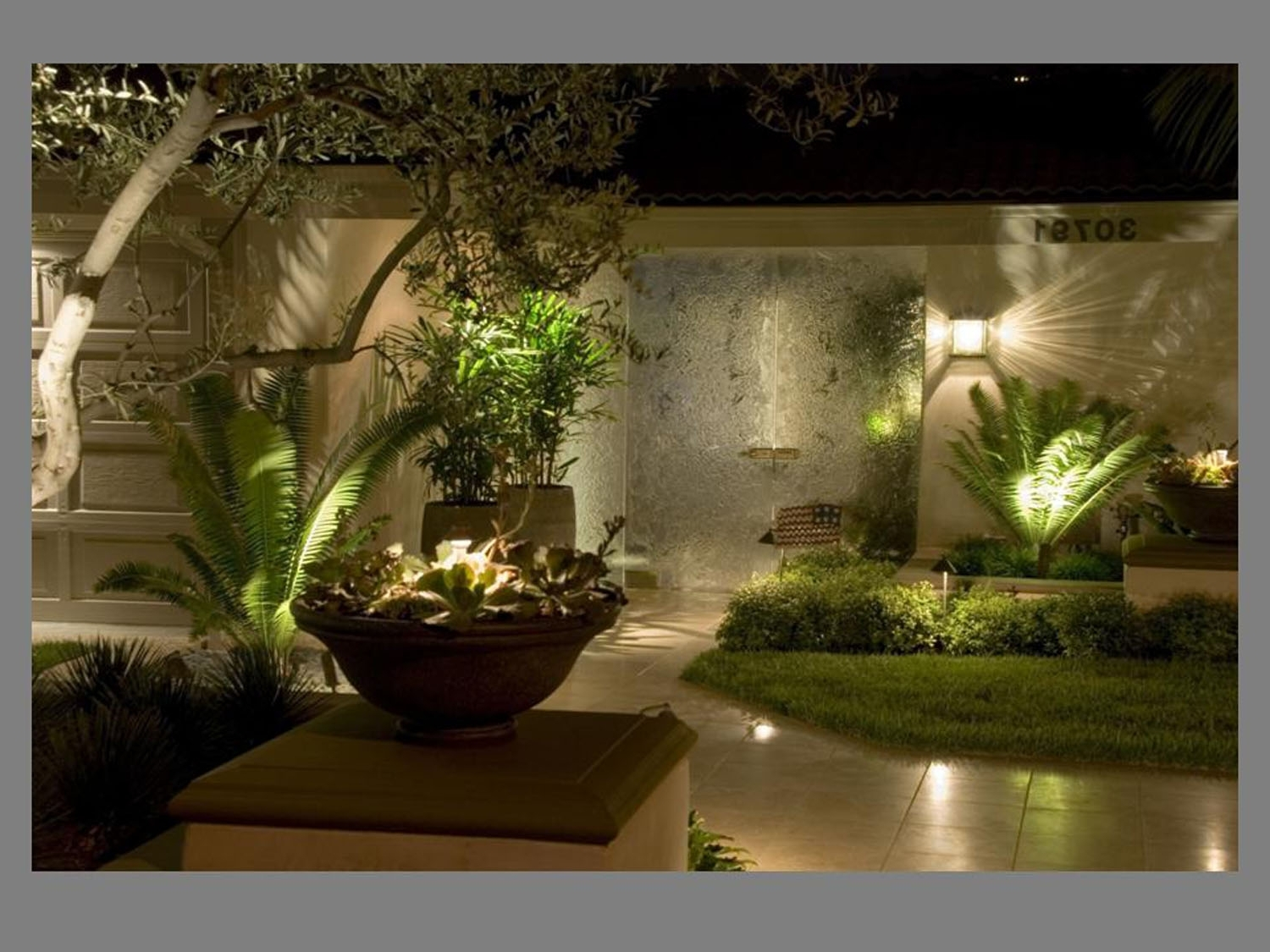 Most Recently Released Outdoor Wall Accent Lighting For Shiny Wall Lamp Under Cute Tree Front Fresh Grass Right For Modern (View 8 of 20)