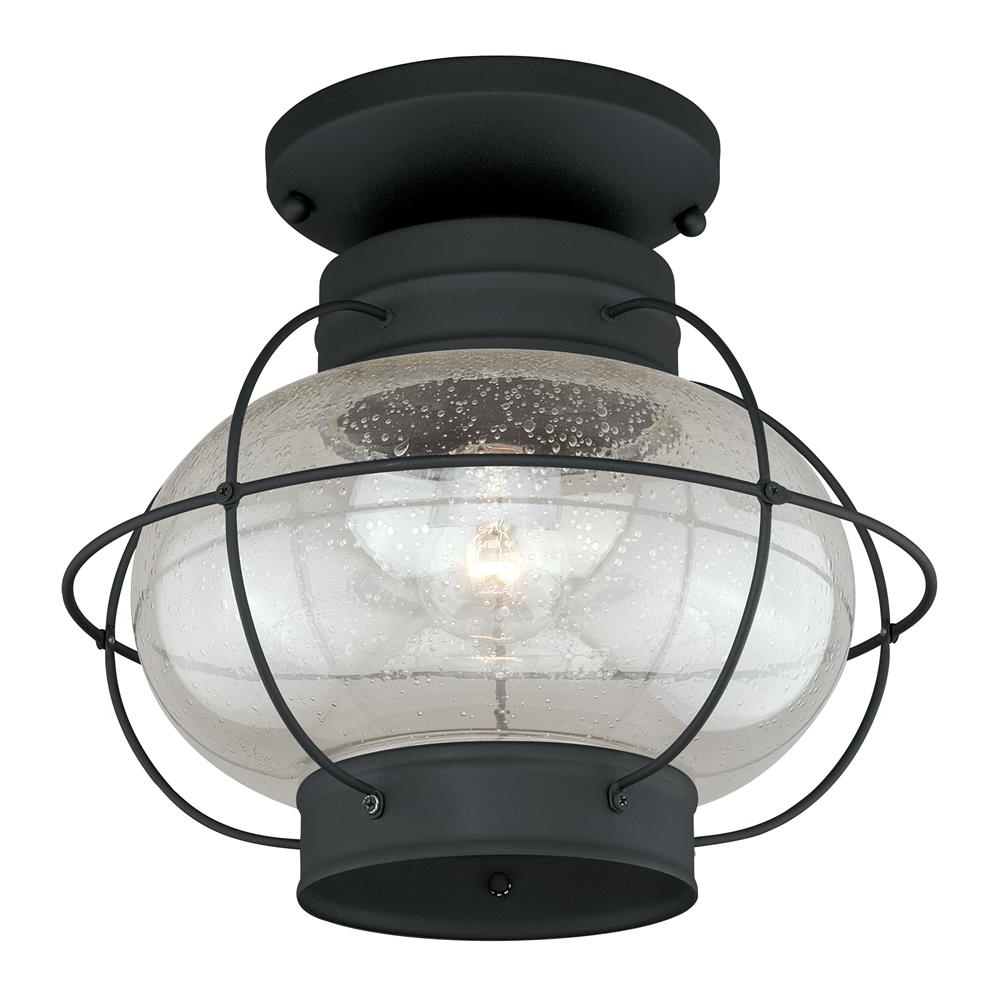 Most Recently Released Vaxcel Lighting Outdoor Flush / Semi Flush Mount Ceiling Lighting In Outdoor Semi Flush Ceiling Lights (View 4 of 20)