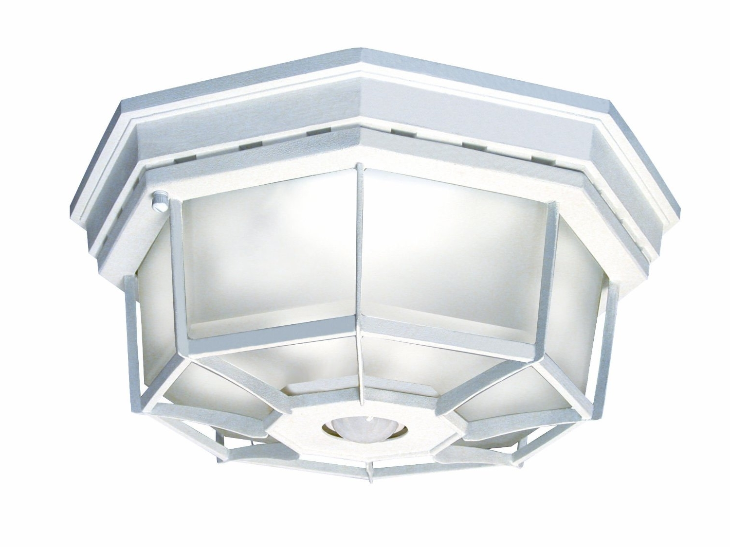 Most Recently Released White Outdoor Ceiling Lights Throughout Outdoor Ceiling Light Motion Sensor (View 12 of 20)