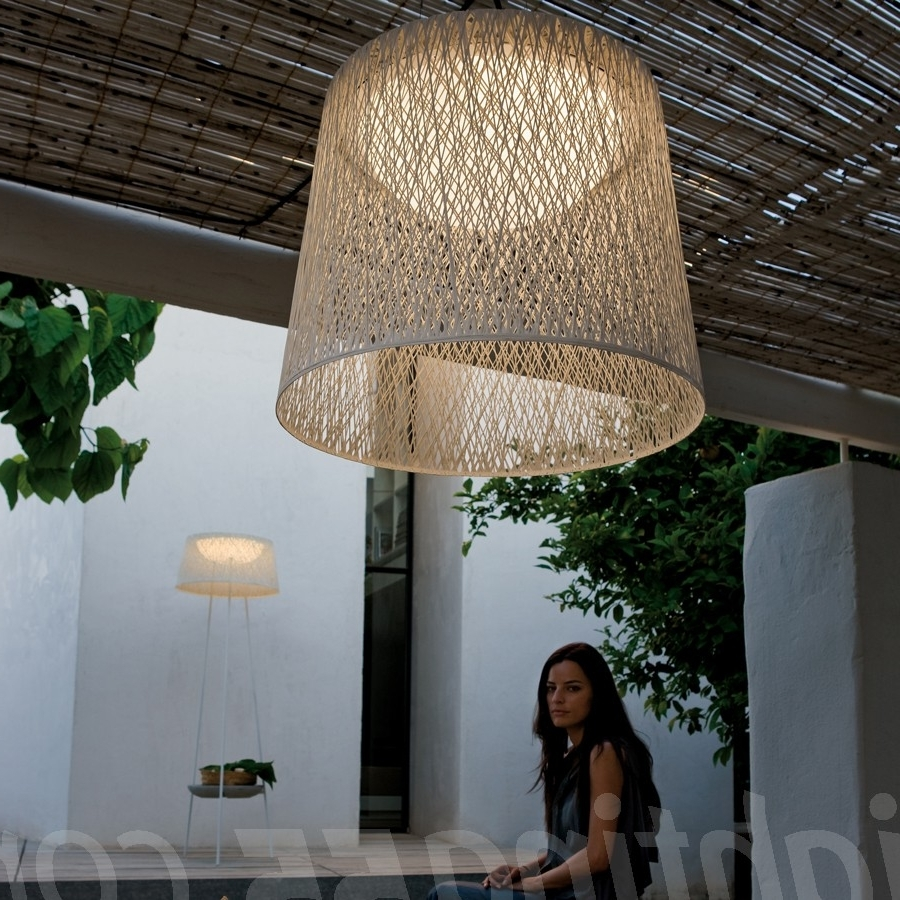 Most Recently Released Wind Outdoor Pendant Light #modern #outdoorlighting #lighting Regarding Large Outdoor Ceiling Lights (View 7 of 20)