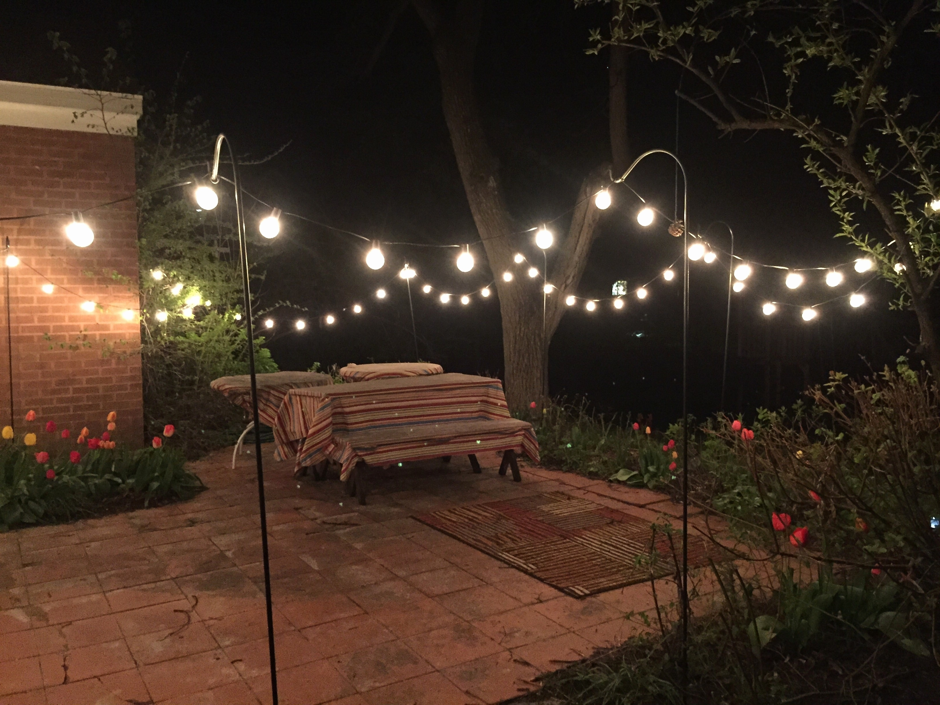 Most Up To Date Battery Operated Outdoor Lights At Target With Regard To Lighting : The Best Exterior String Lights Ideas Homesfeed Outdoor (View 15 of 20)