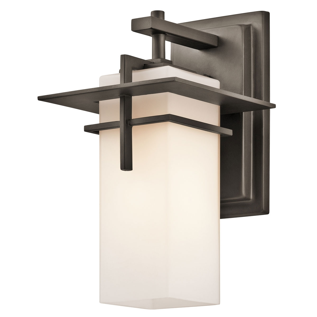 Most Up To Date Contemporary Outdoor Lighting Sconces Pertaining To Bronze Zephyr Contemporary Outdoor Wall Sconce — Photo Designs (View 16 of 20)