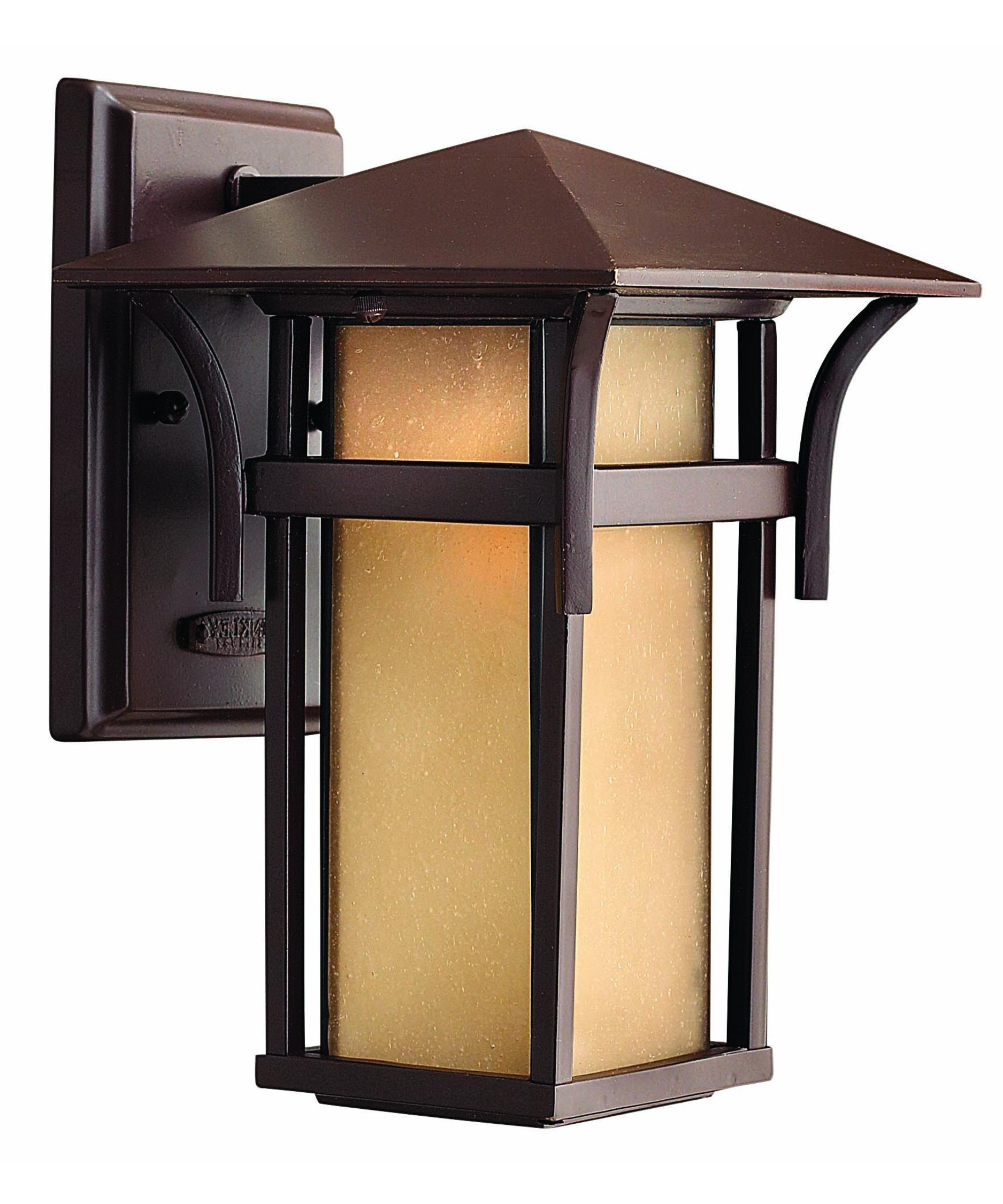 Most Up To Date Craftsman Outdoor Wall Lighting In Hinkley Lighting 2570 Harbor 7 Inch Wide 1 Light Outdoor Wall Light (View 3 of 20)